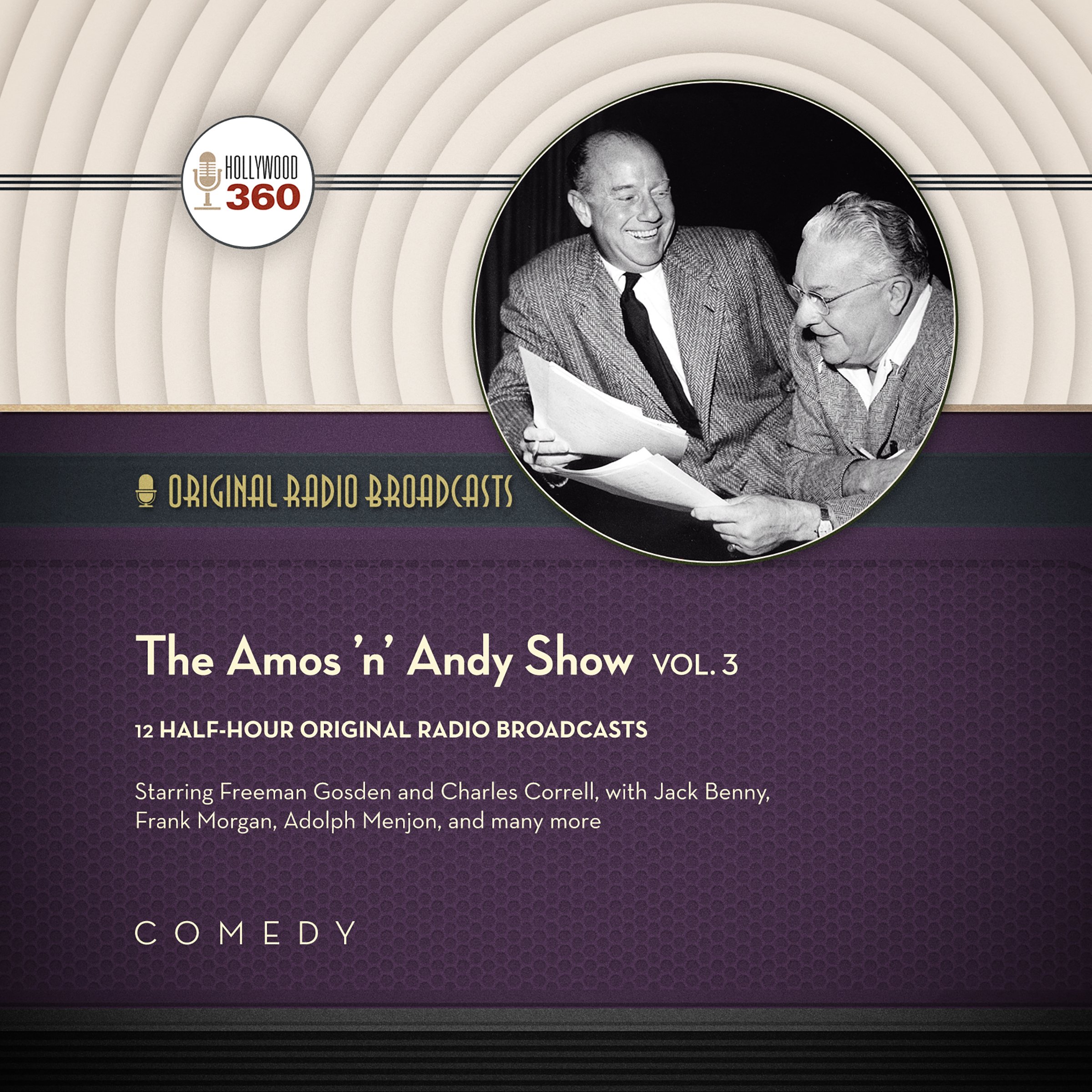 Printable The Amos 'n' Andy Show, Vol. 3 Audiobook Cover Art
