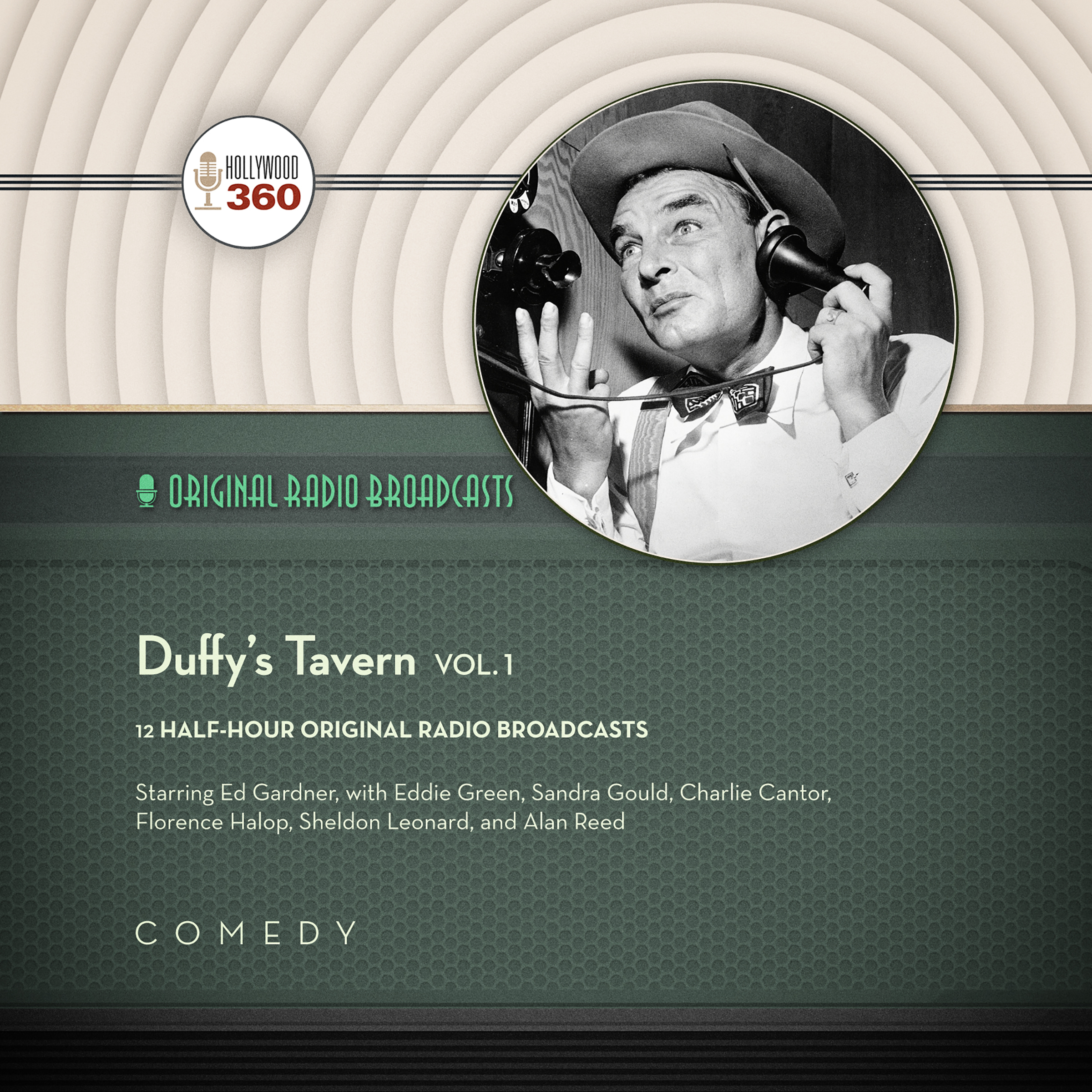 Printable Duffy's Tavern, Vol. 1 Audiobook Cover Art