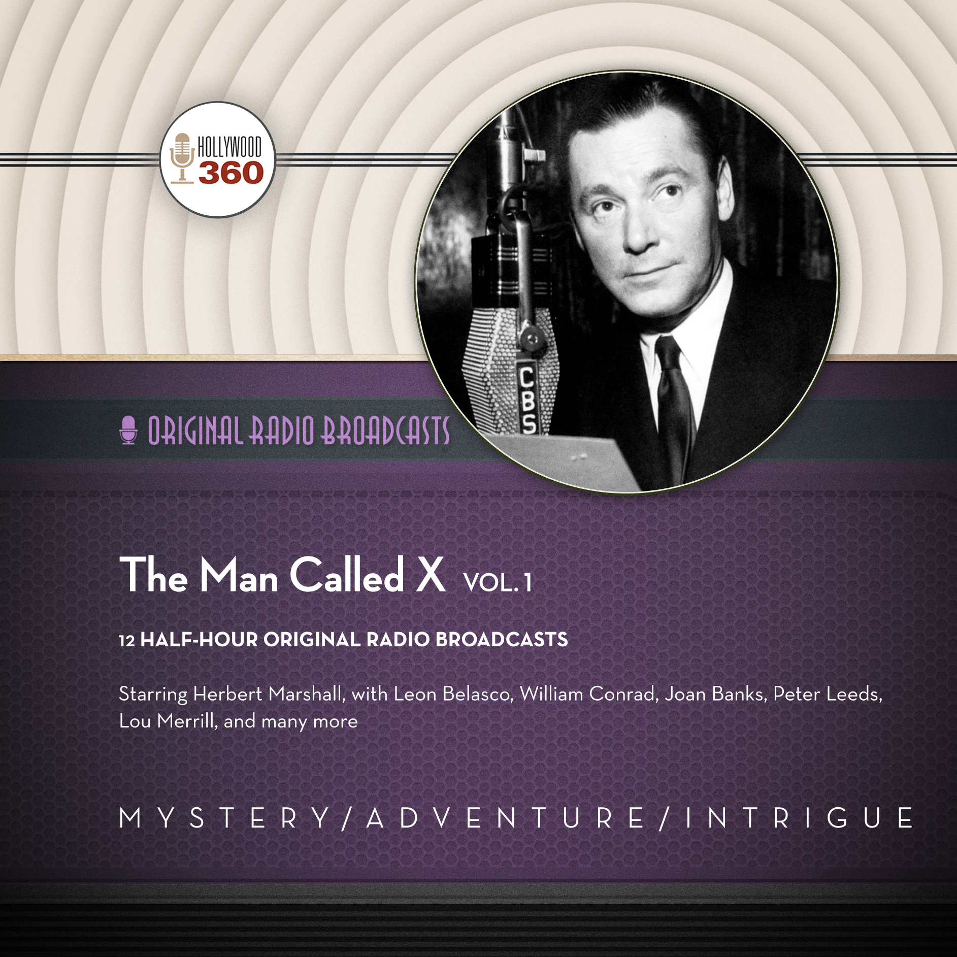 Printable The Man Called X, Vol. 1 Audiobook Cover Art