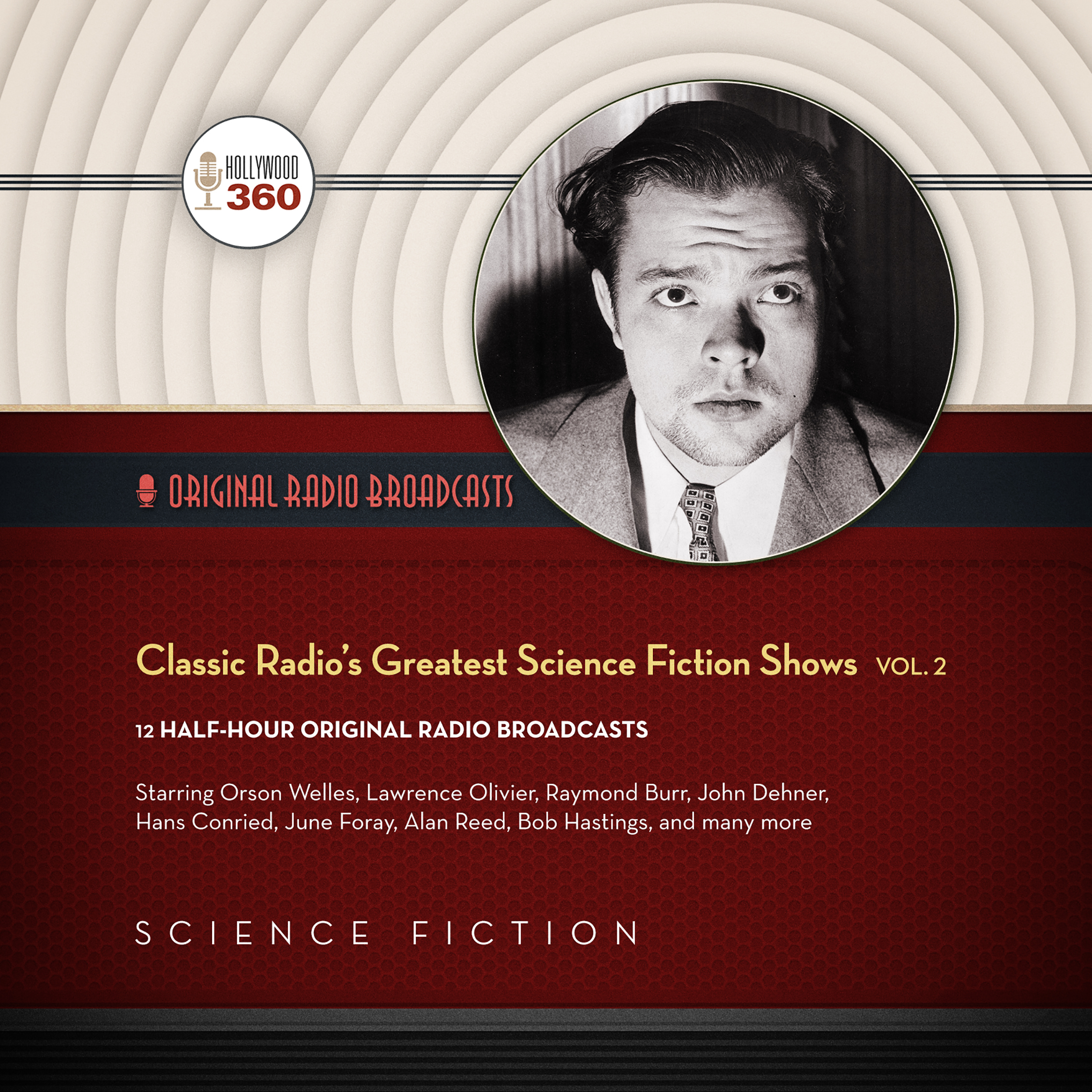Printable Classic Radio's Greatest Science Fiction Shows, Vol. 2 Audiobook Cover Art