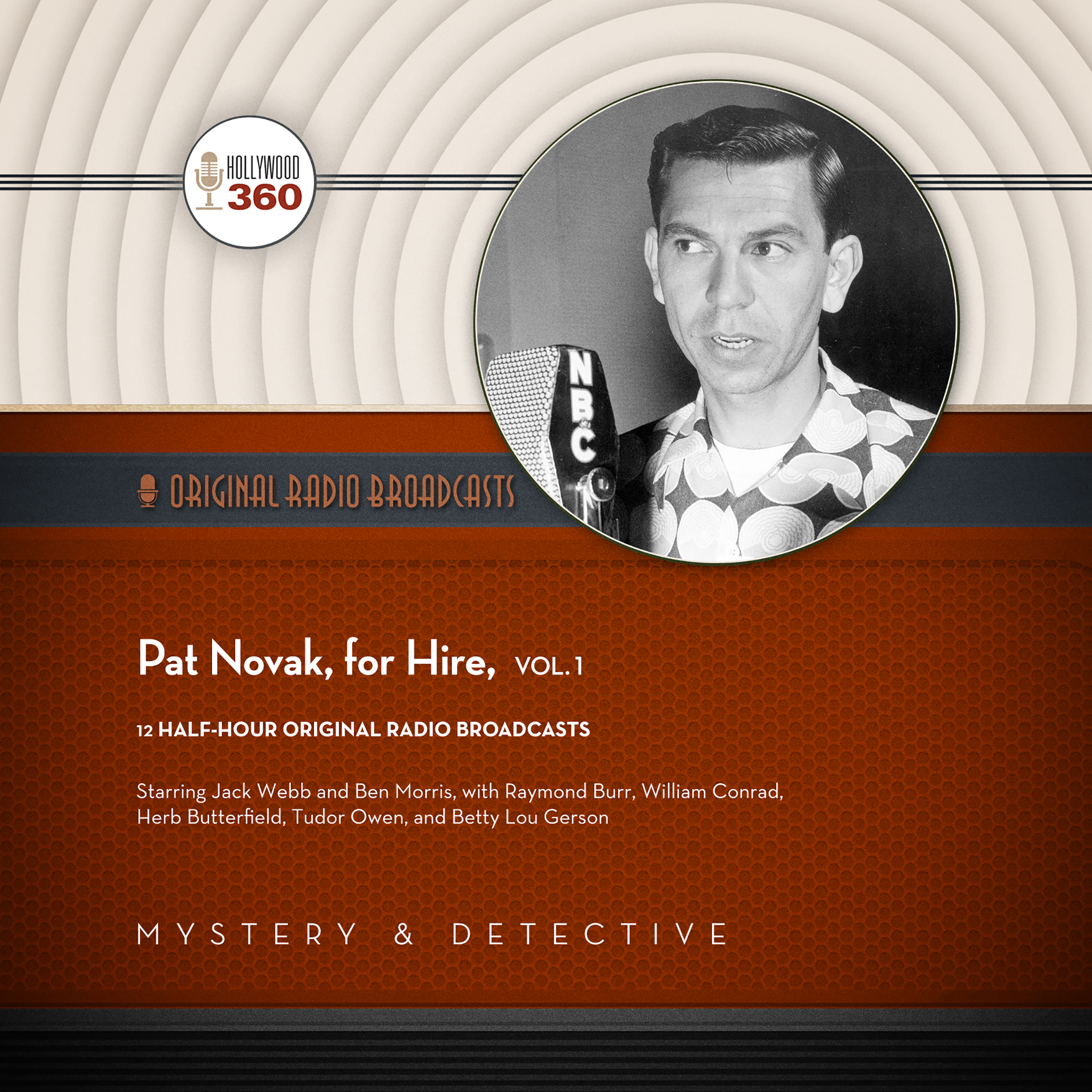Printable Pat Novak, for Hire, Vol. 1 Audiobook Cover Art