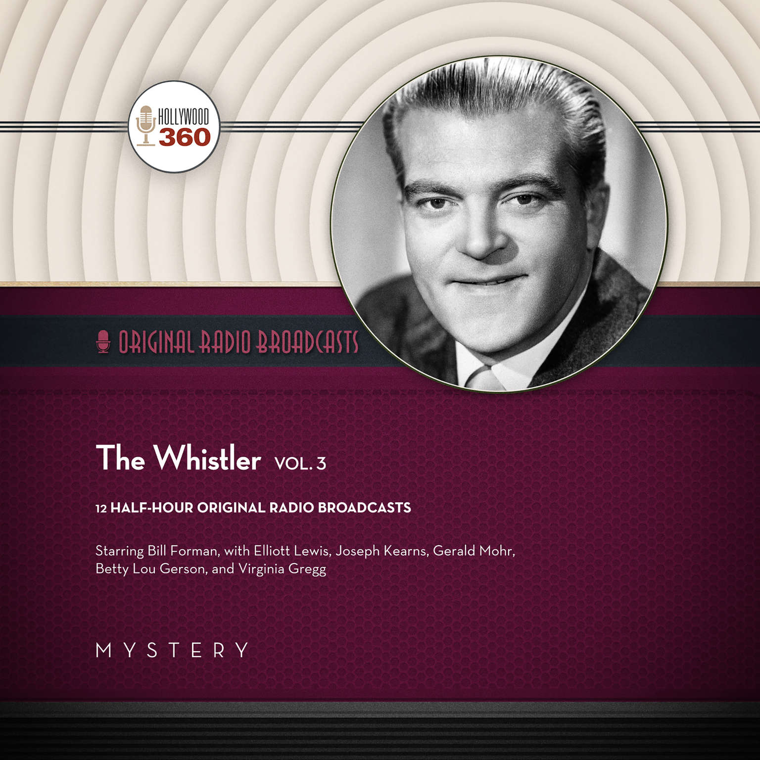 Printable The Whistler, Vol. 3 Audiobook Cover Art