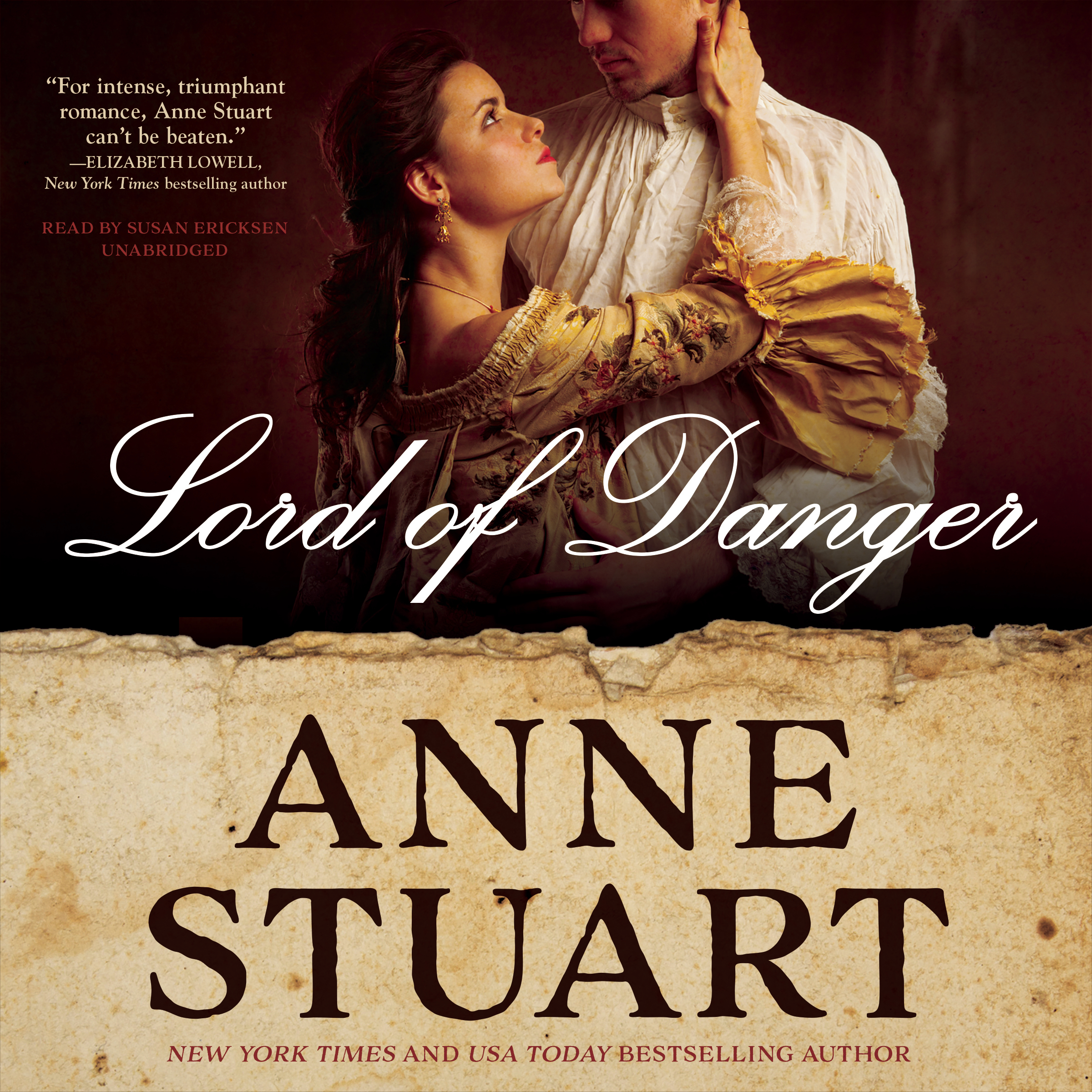 Printable Lord of Danger Audiobook Cover Art