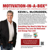Motivation-in-a-Box®: Everything You Need to Help You or Someone You Love Get Motivated and Change Your Life! Audiobook, by Kevin L. McCrudden
