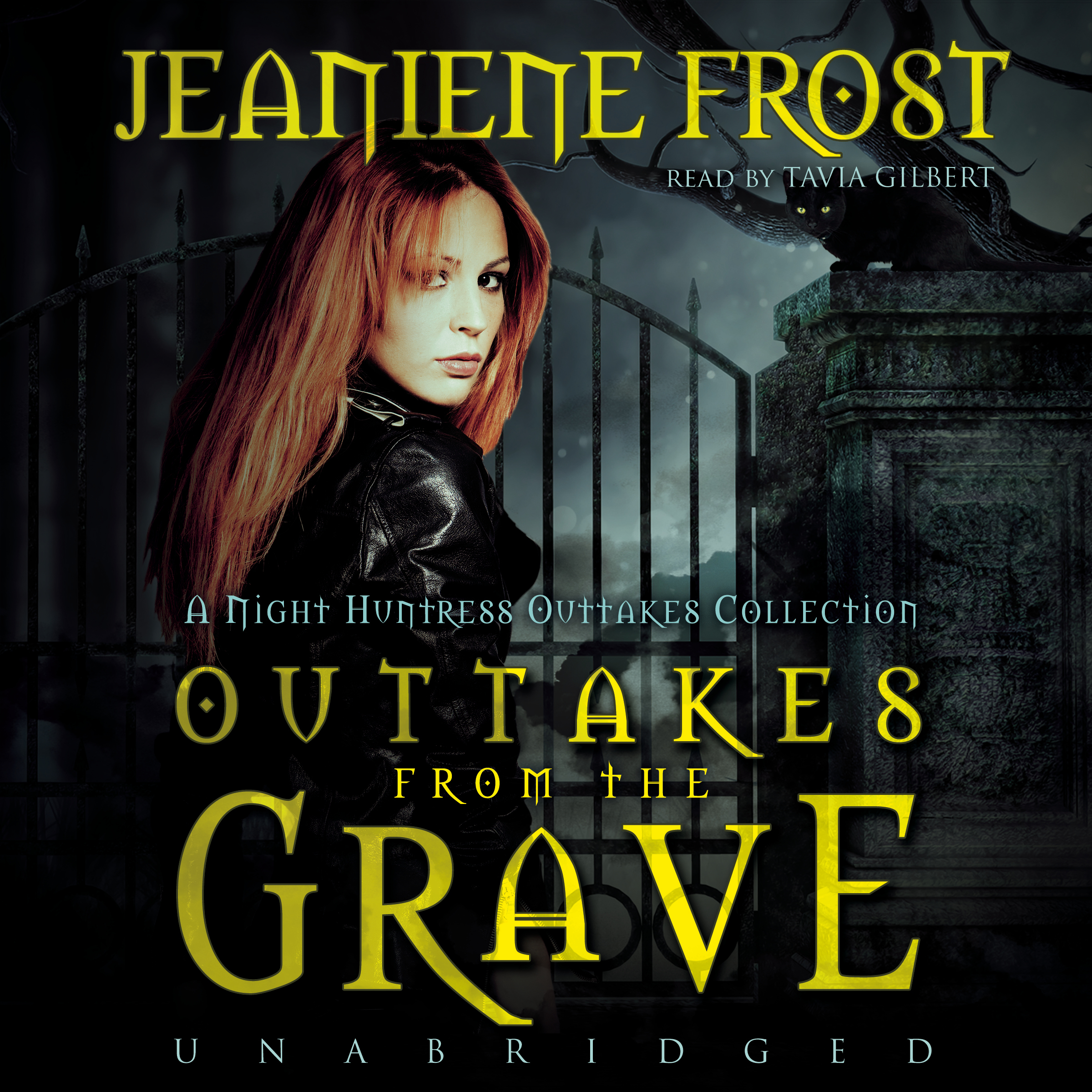 Printable Outtakes from the Grave: A Night Huntress Outtakes Collection Audiobook Cover Art