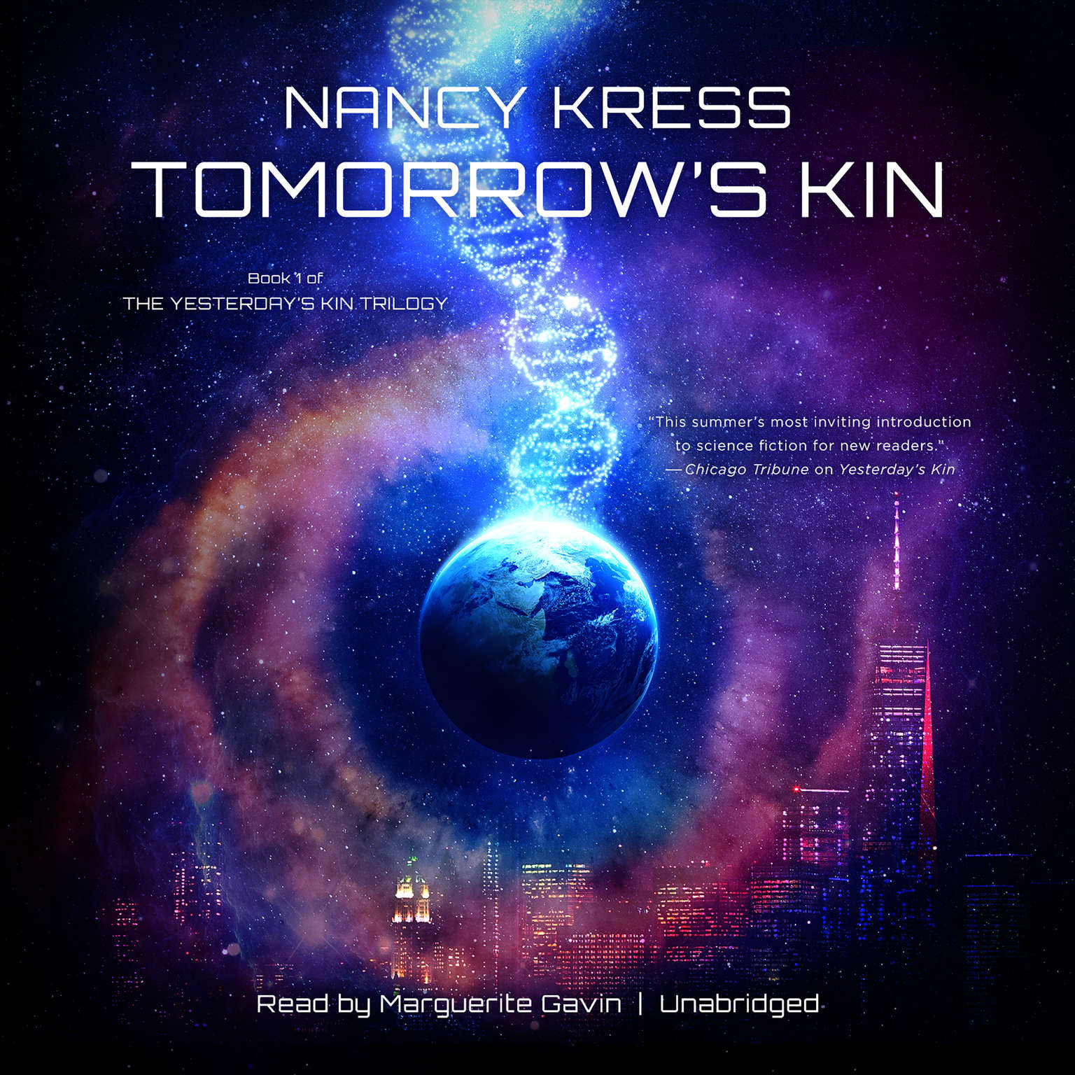 Printable Tomorrow's Kin: Book 1 of the Yesterday's Kin Trilogy Audiobook Cover Art
