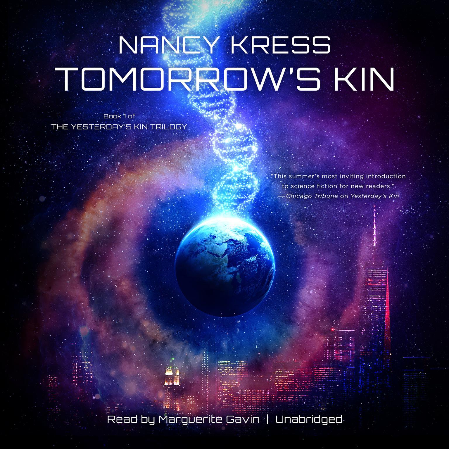 Printable Tomorrow's Kin Audiobook Cover Art