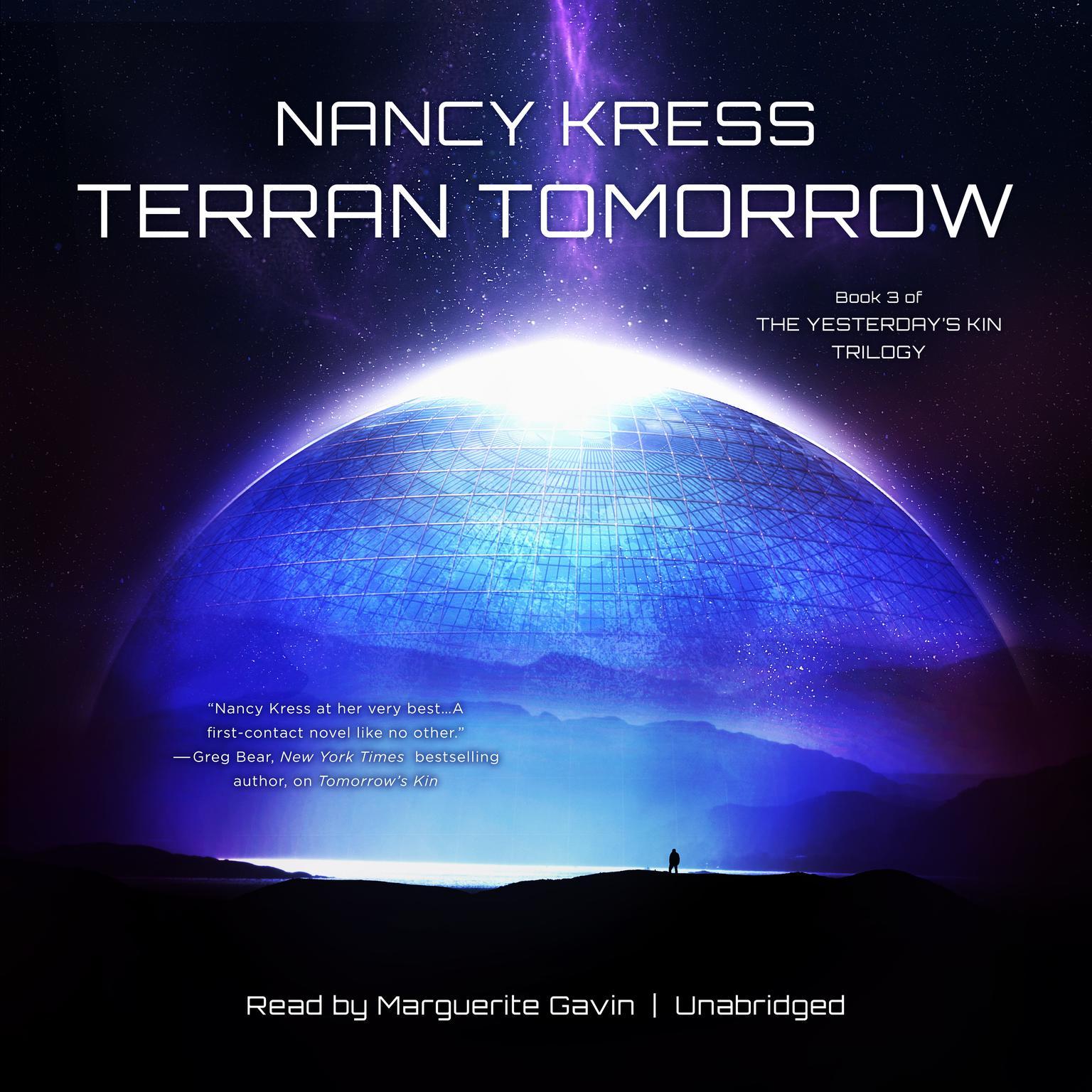 Terran Tomorrow: Book 3 of the Yesterday's Kin Trilogy Audiobook, by Nancy Kress