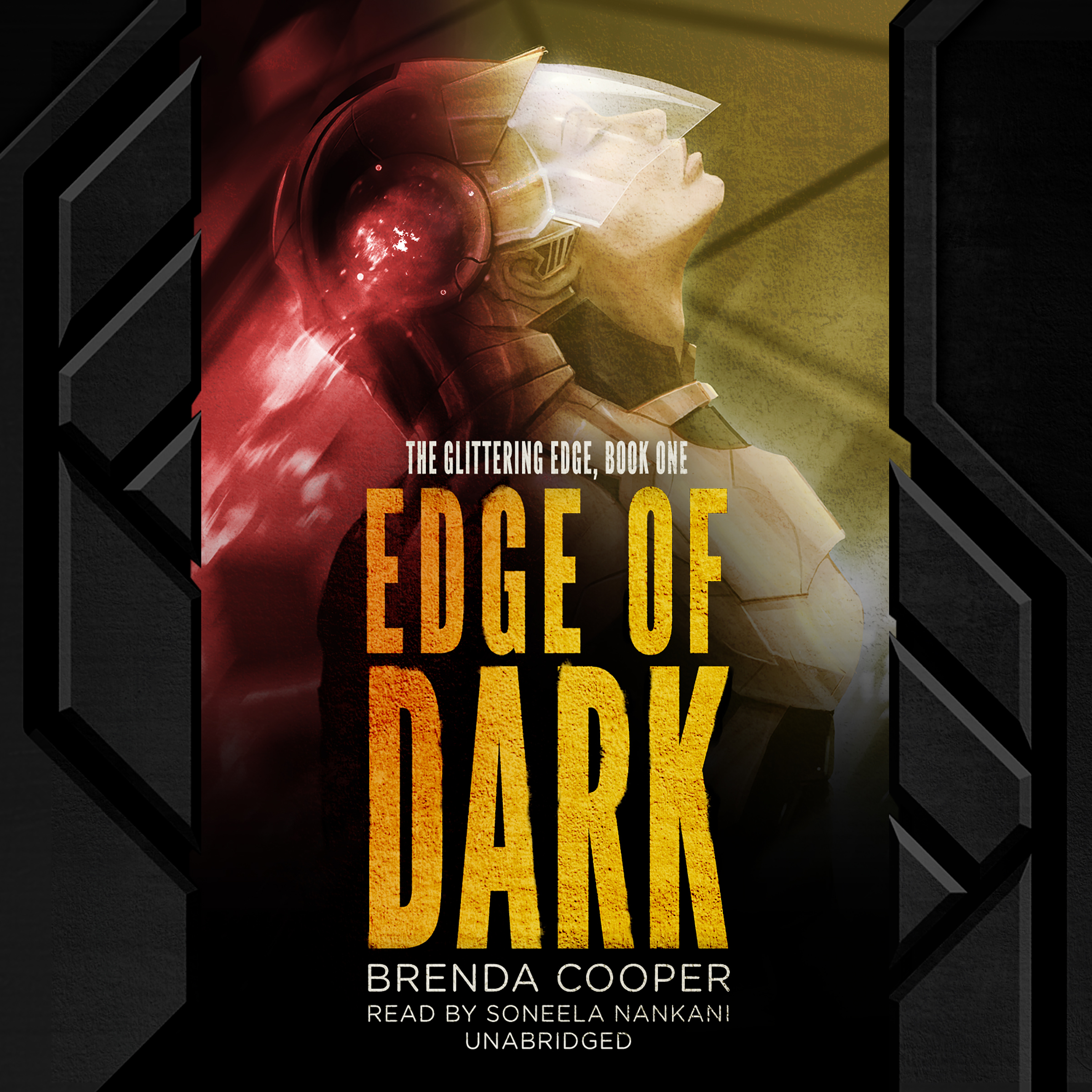 Printable Edge of Dark: The Glittering Edge, Book One Audiobook Cover Art