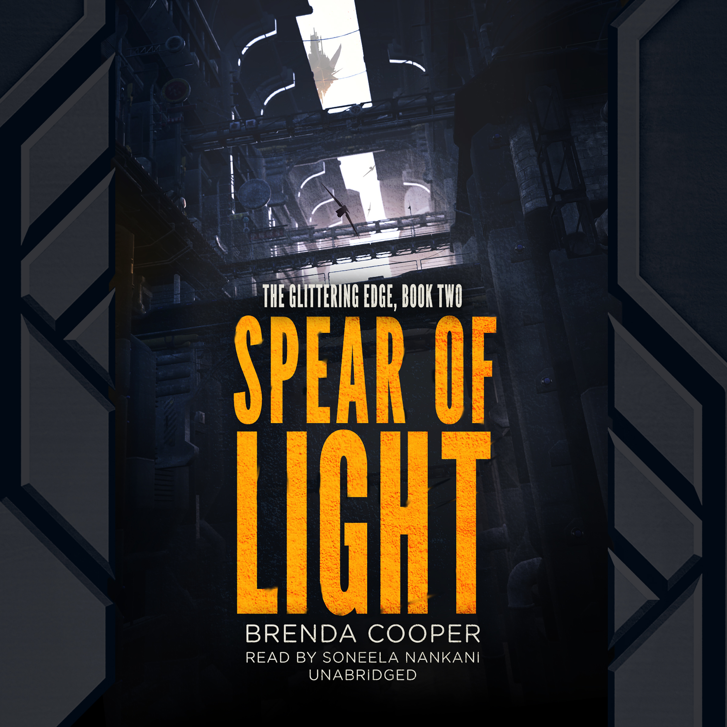 Printable Spear of Light: The Glittering Edge, Book Two Audiobook Cover Art