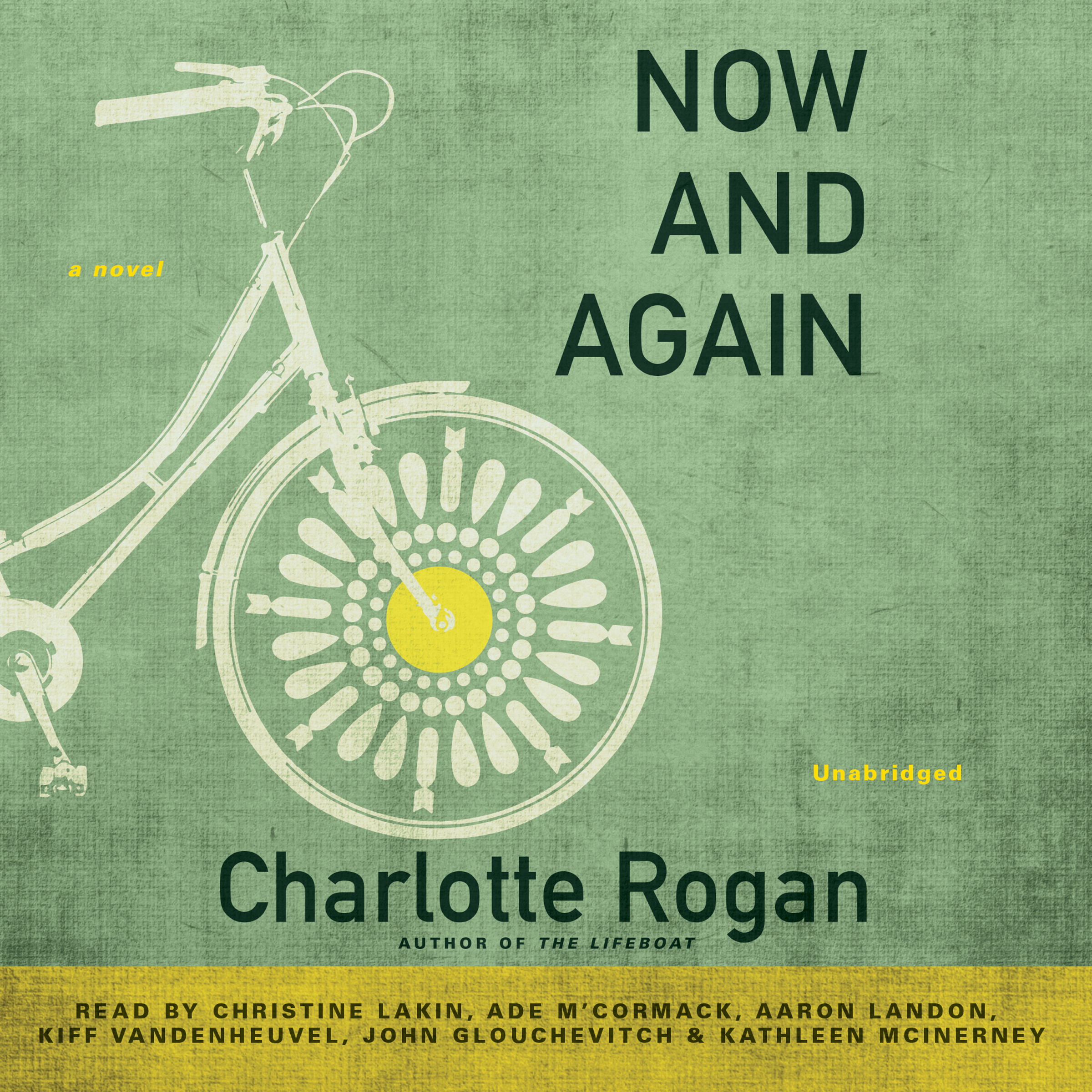 Printable Now and Again Audiobook Cover Art