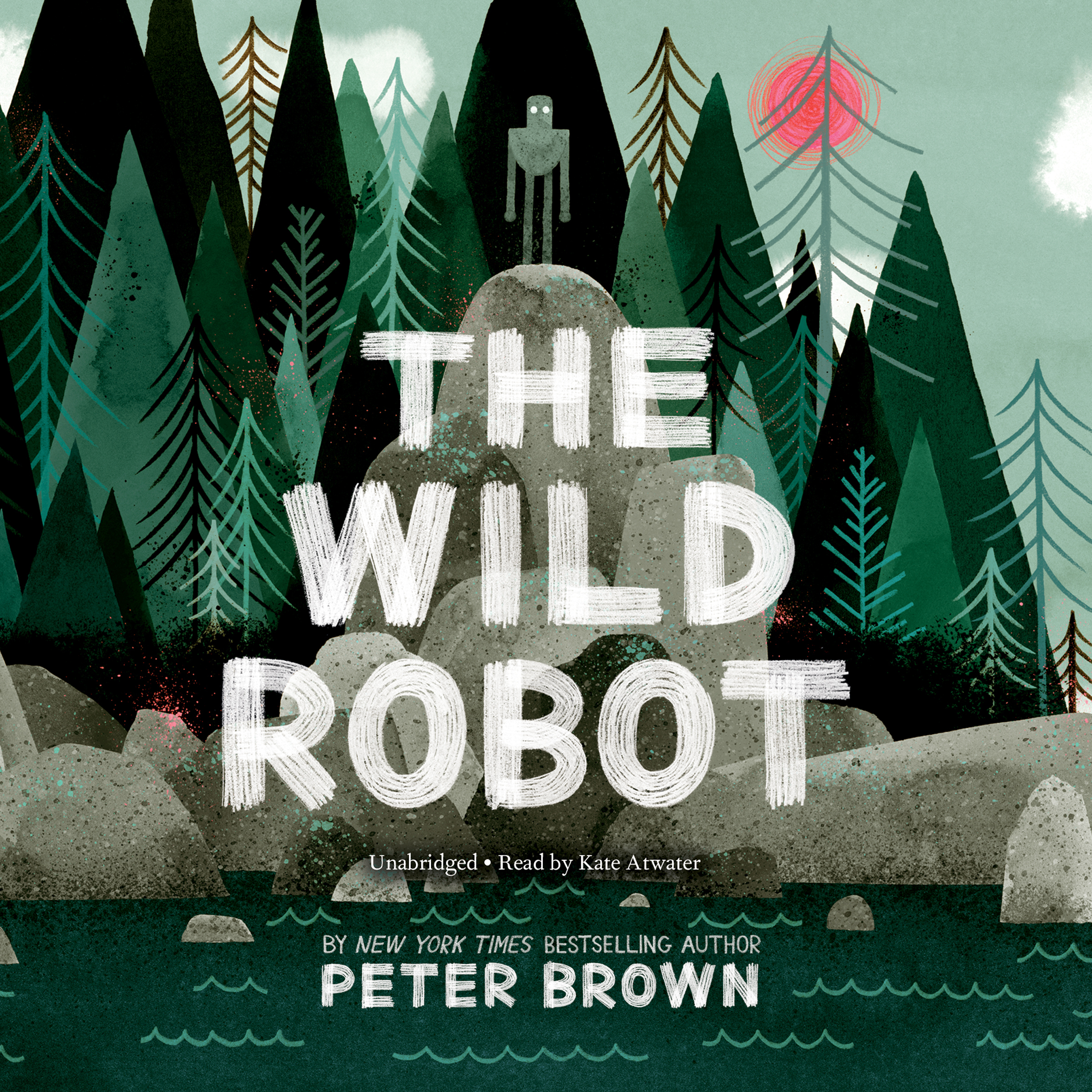 Printable The Wild Robot Audiobook Cover Art