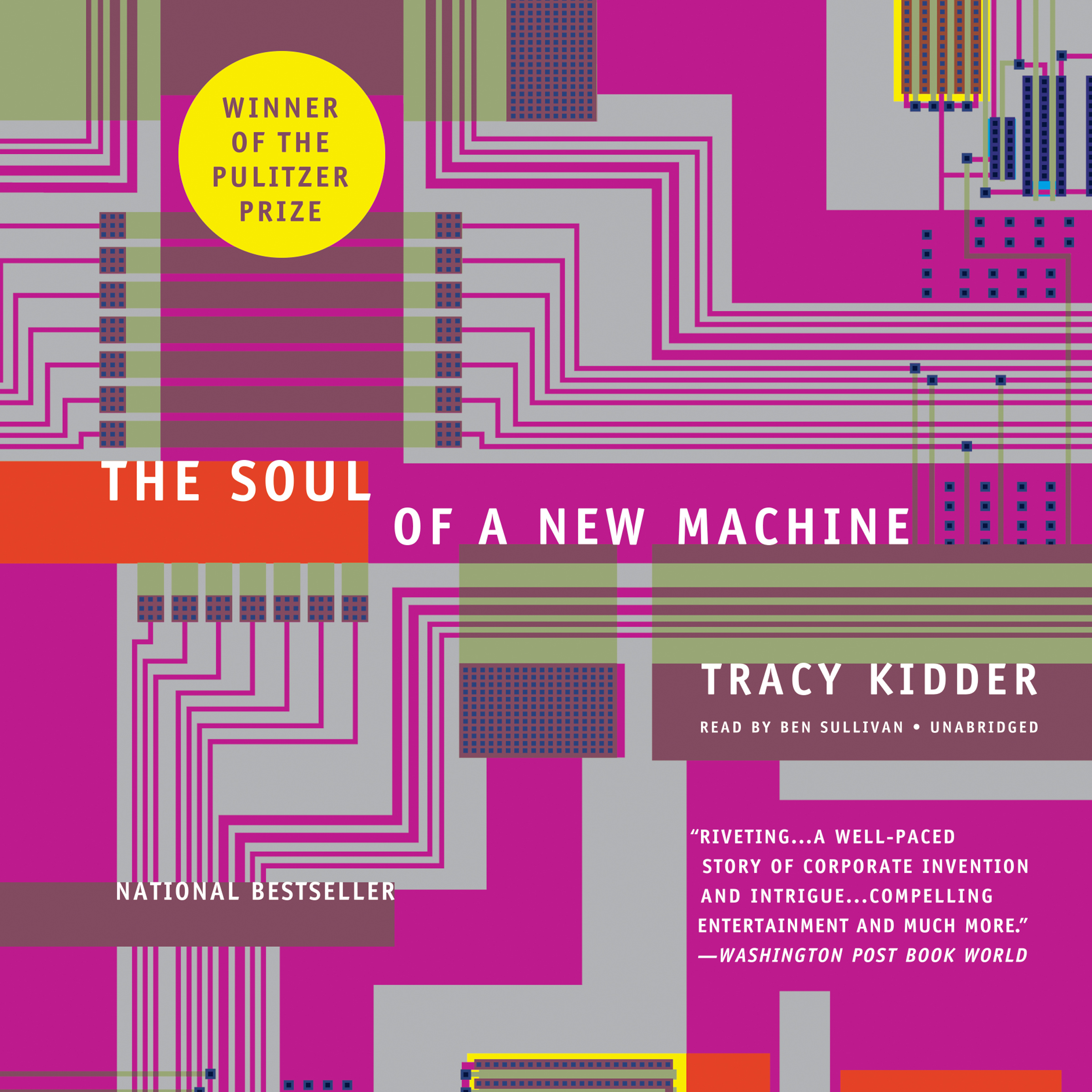 Printable The Soul of a New Machine Audiobook Cover Art