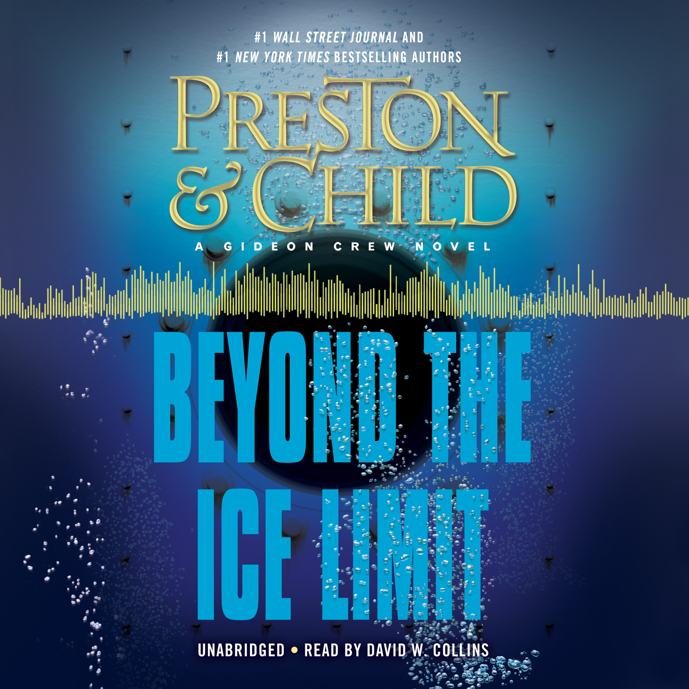 Printable Beyond the Ice Limit: A Gideon Crew Novel Audiobook Cover Art