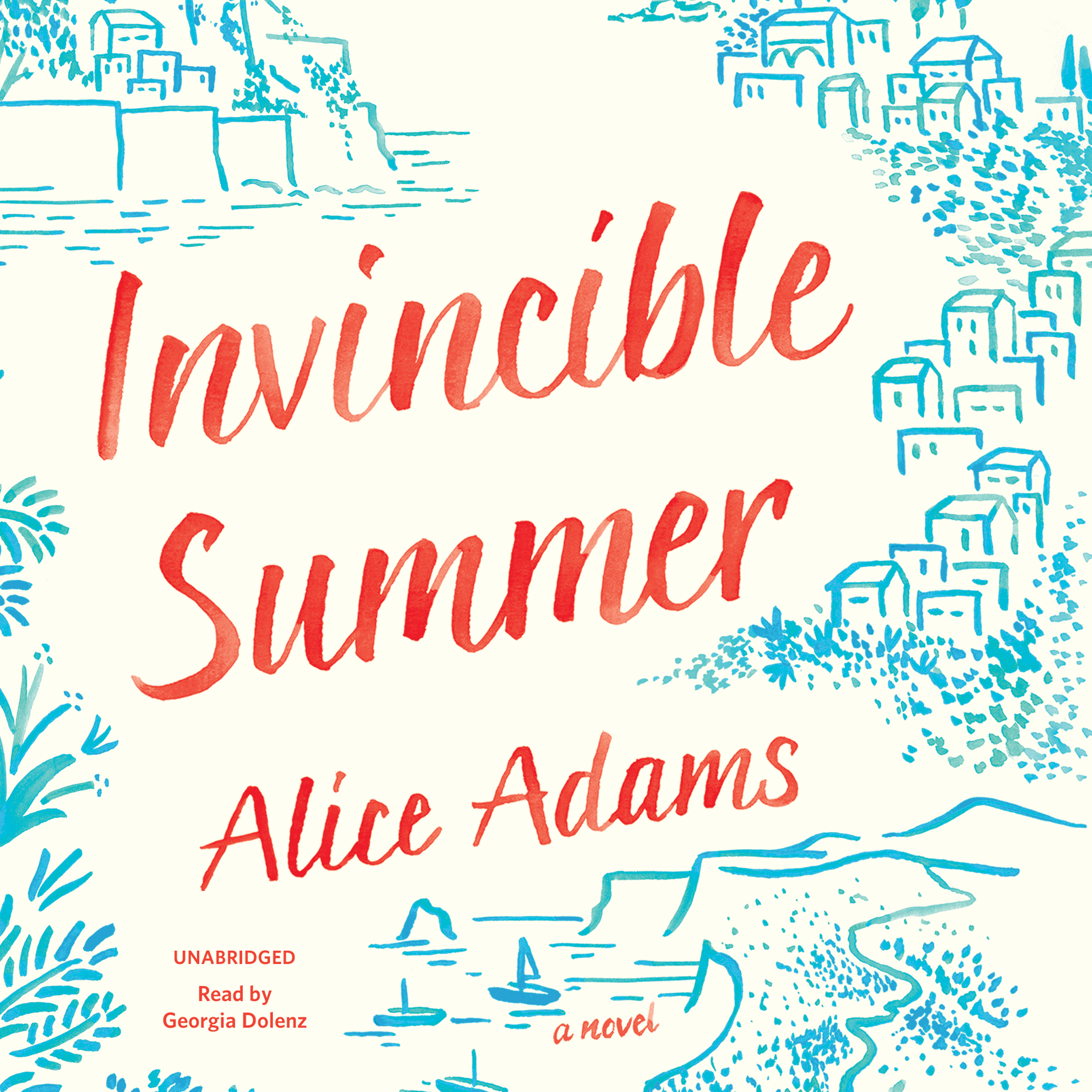 Printable Invincible Summer Audiobook Cover Art