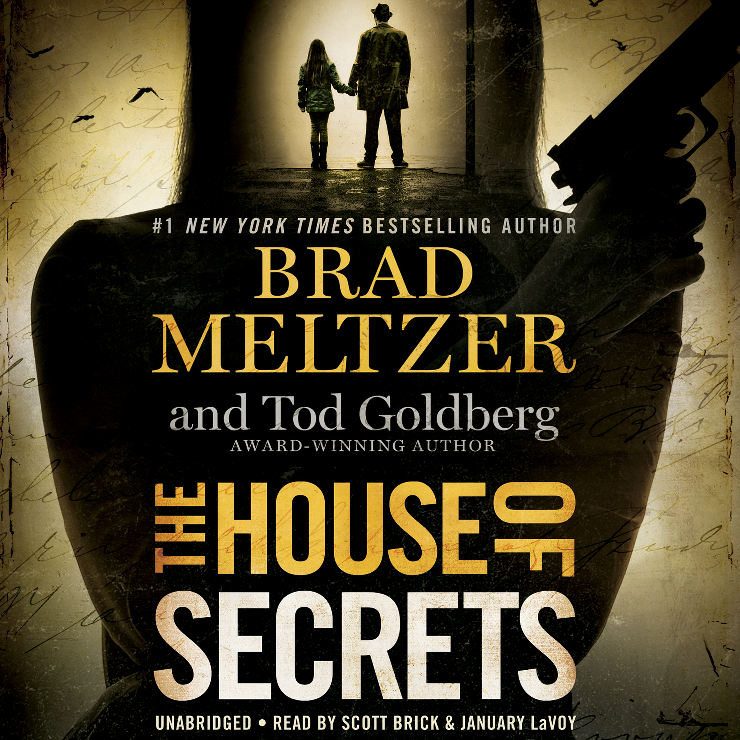 Printable The House of Secrets Audiobook Cover Art