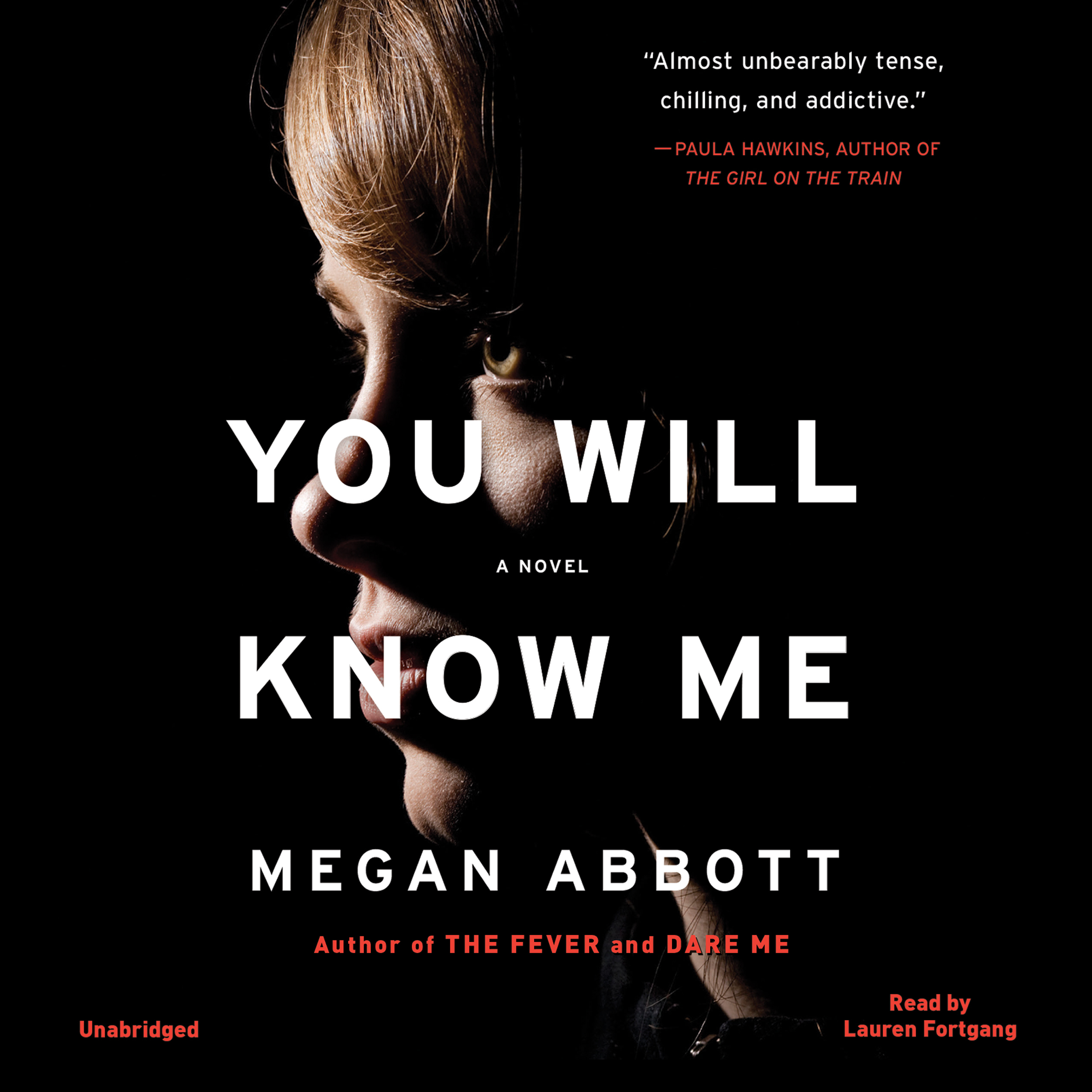 Printable YOU WILL KNOW ME: A gripping novel of stylish psychological suspense: A Novel Audiobook Cover Art