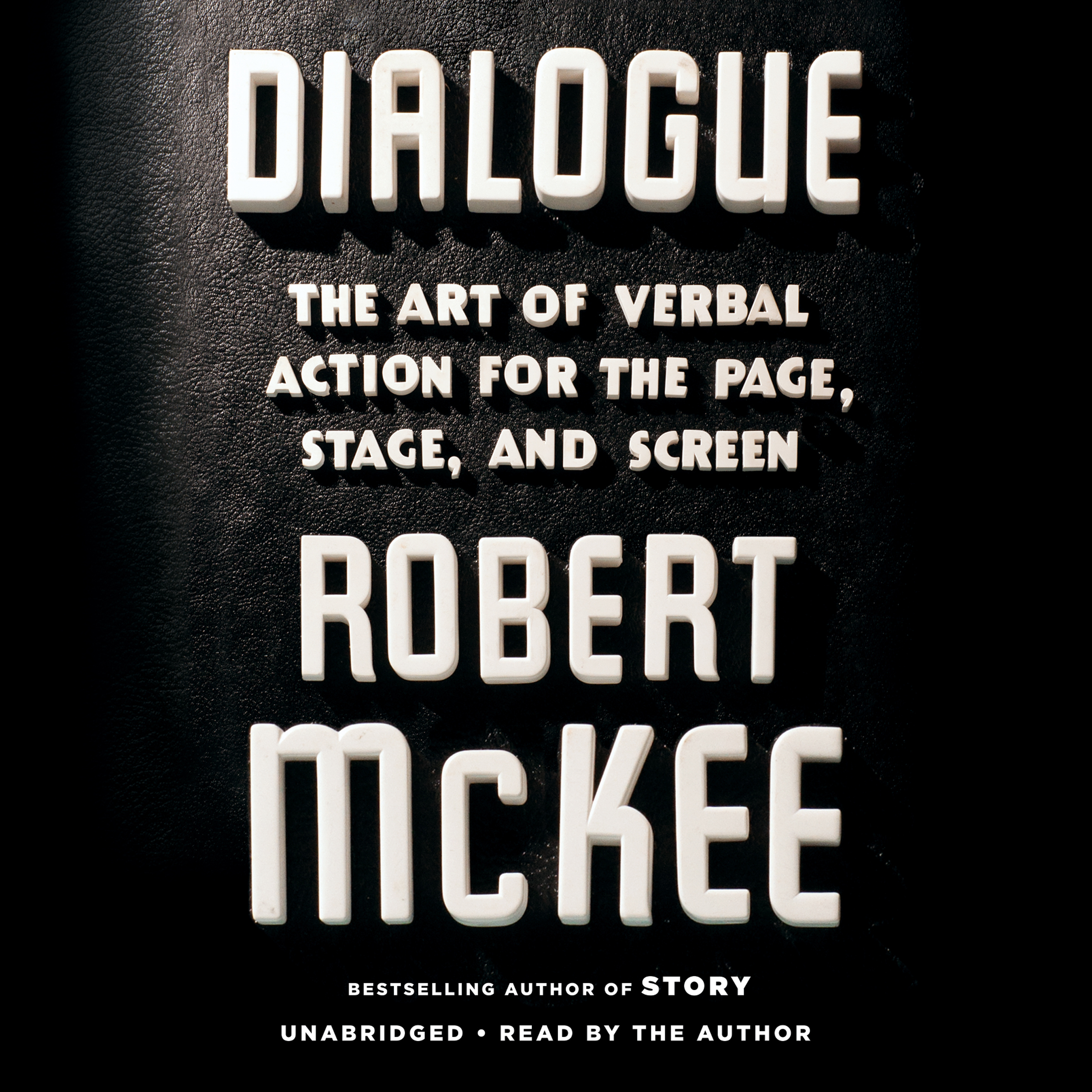 Printable Dialogue: The Art of Verbal Action for Page, Stage, and Screen Audiobook Cover Art