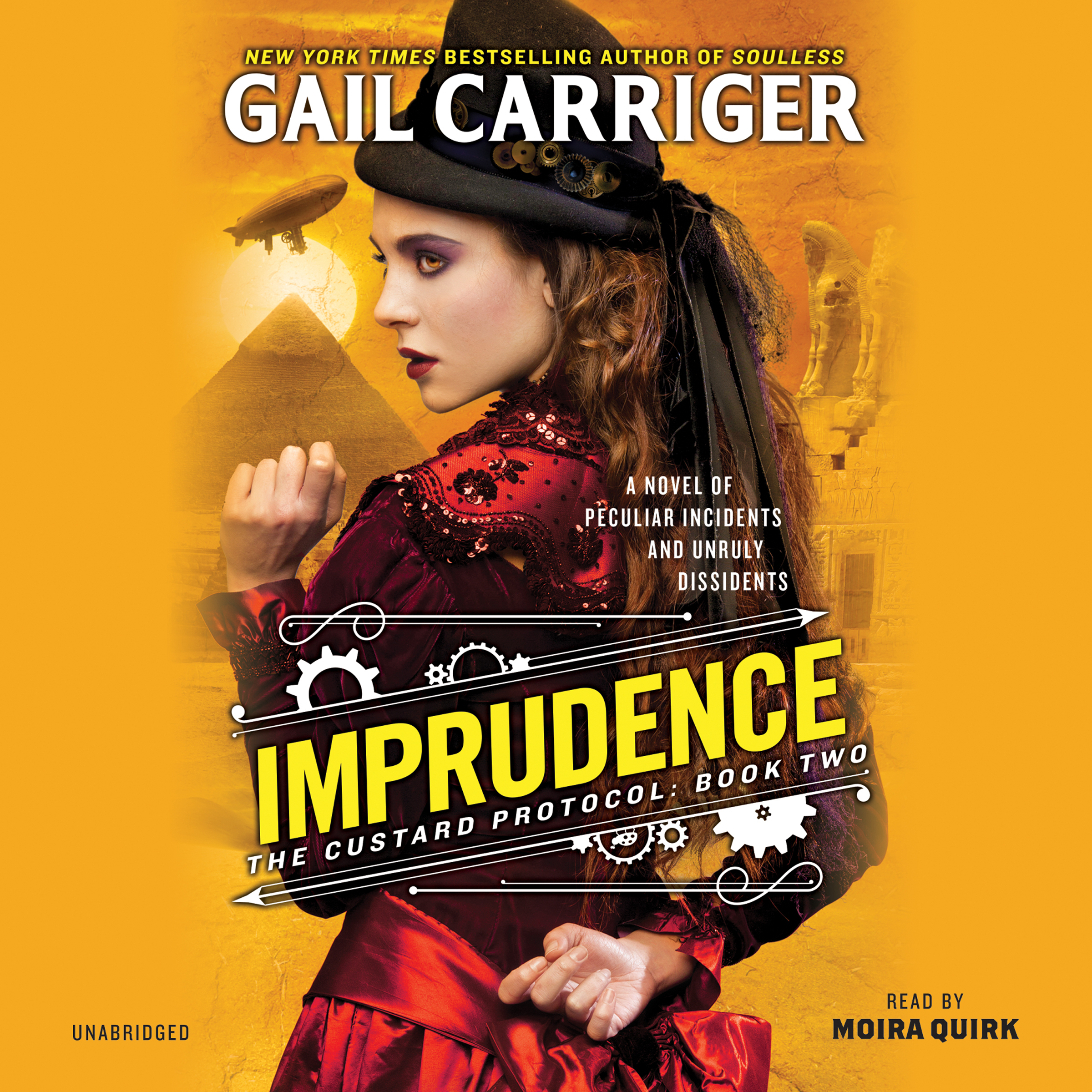 Printable Imprudence Audiobook Cover Art