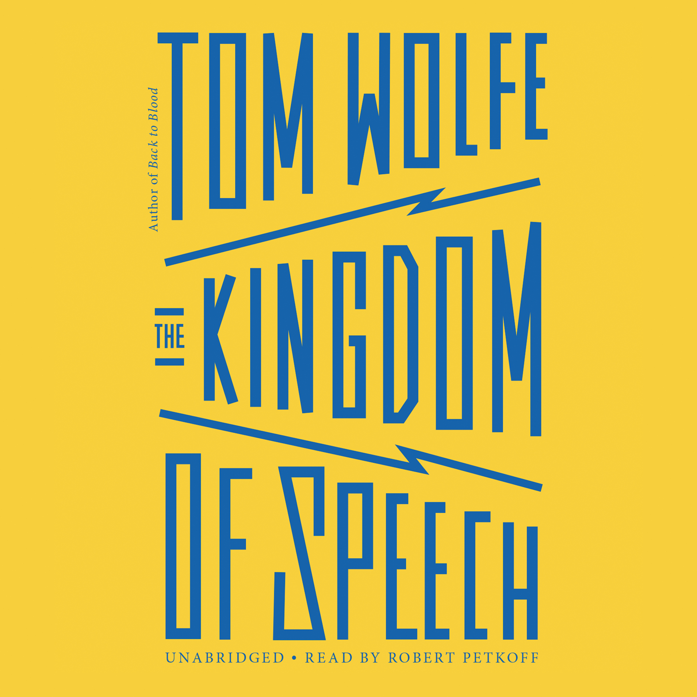 Printable The Kingdom of Speech Audiobook Cover Art
