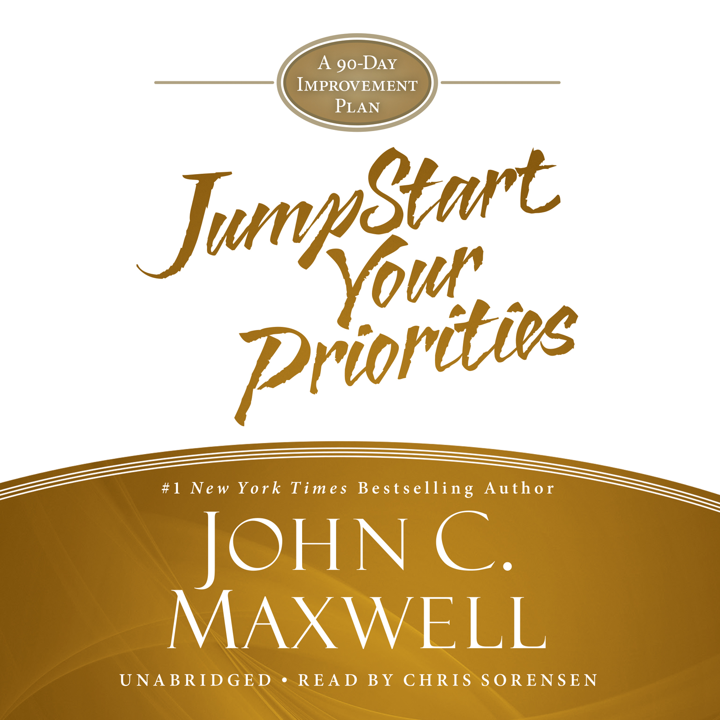 Printable Jumpstart Your Priorities: A 90-Day Improvement Plan Audiobook Cover Art