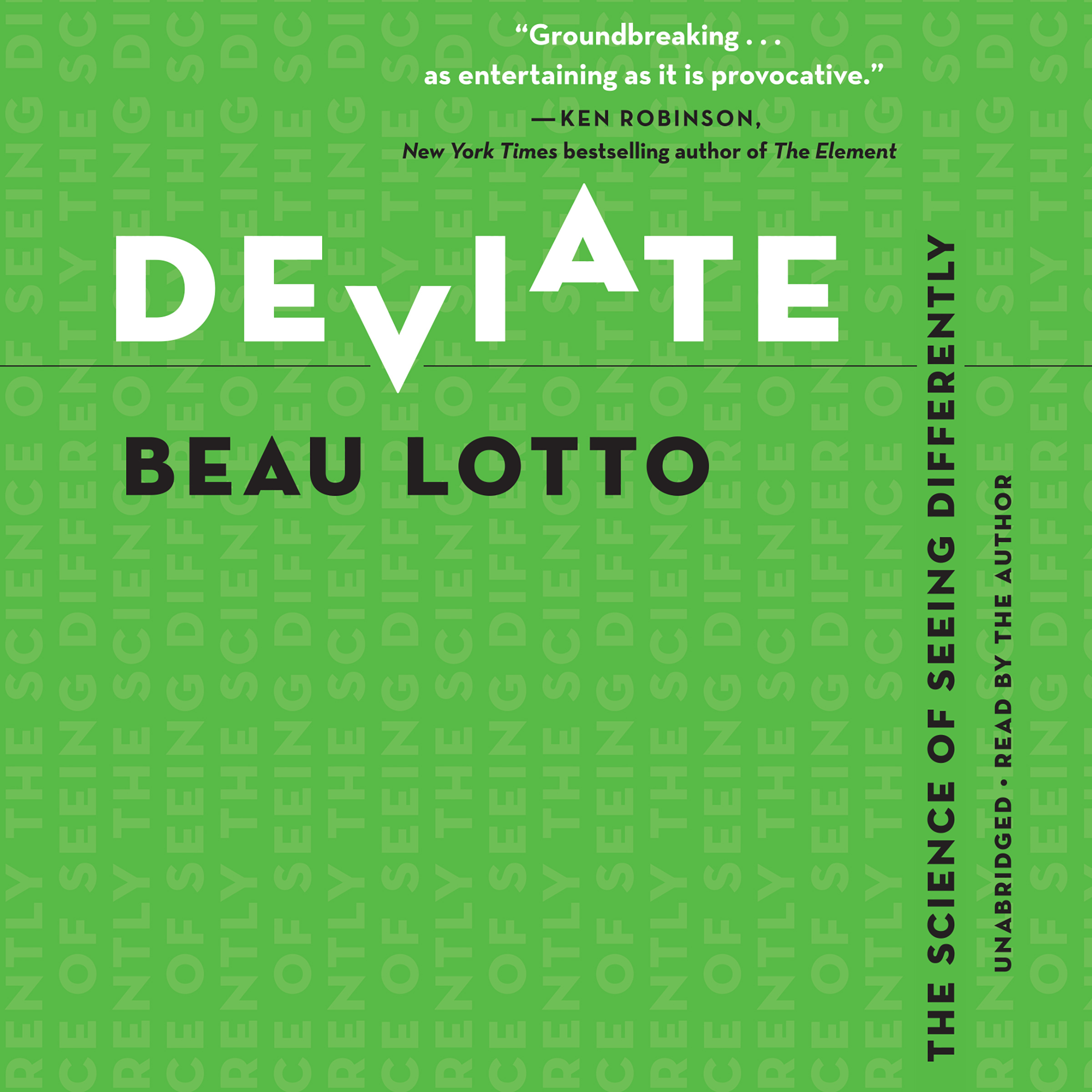 Printable Deviate: The Science of Seeing Differently Audiobook Cover Art