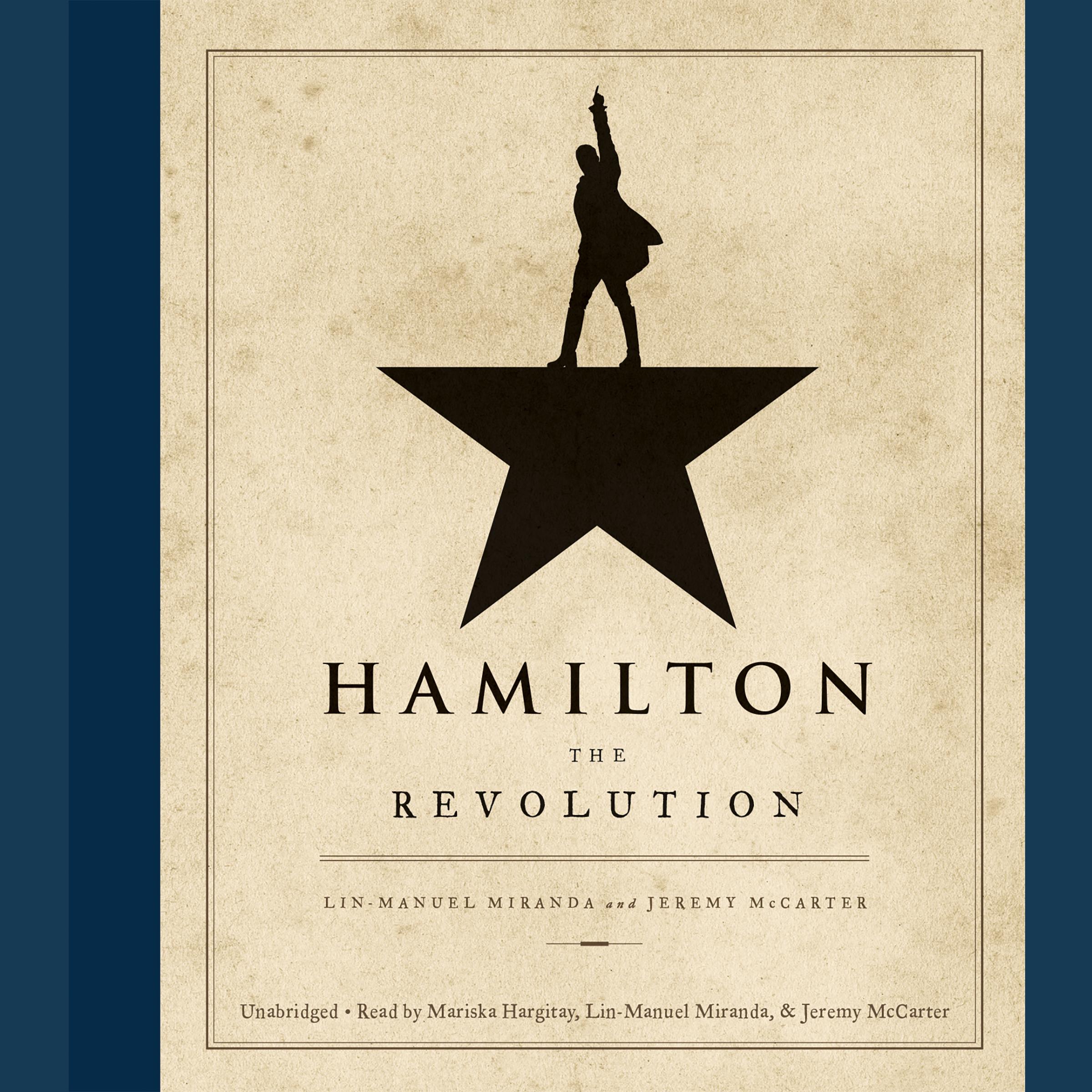Printable Hamilton: The Revolution Audiobook Cover Art