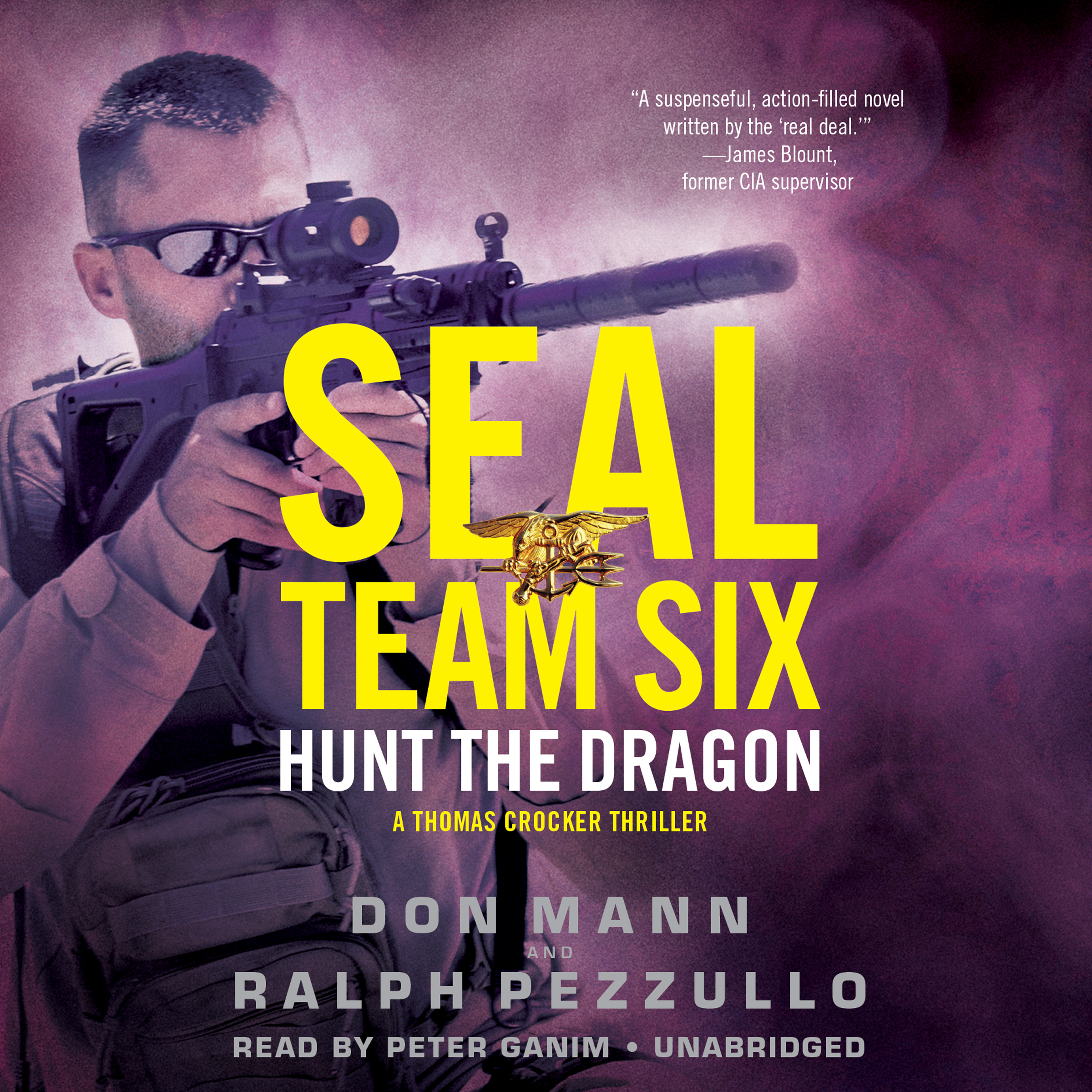 Printable SEAL Team Six: Hunt the Dragon Audiobook Cover Art