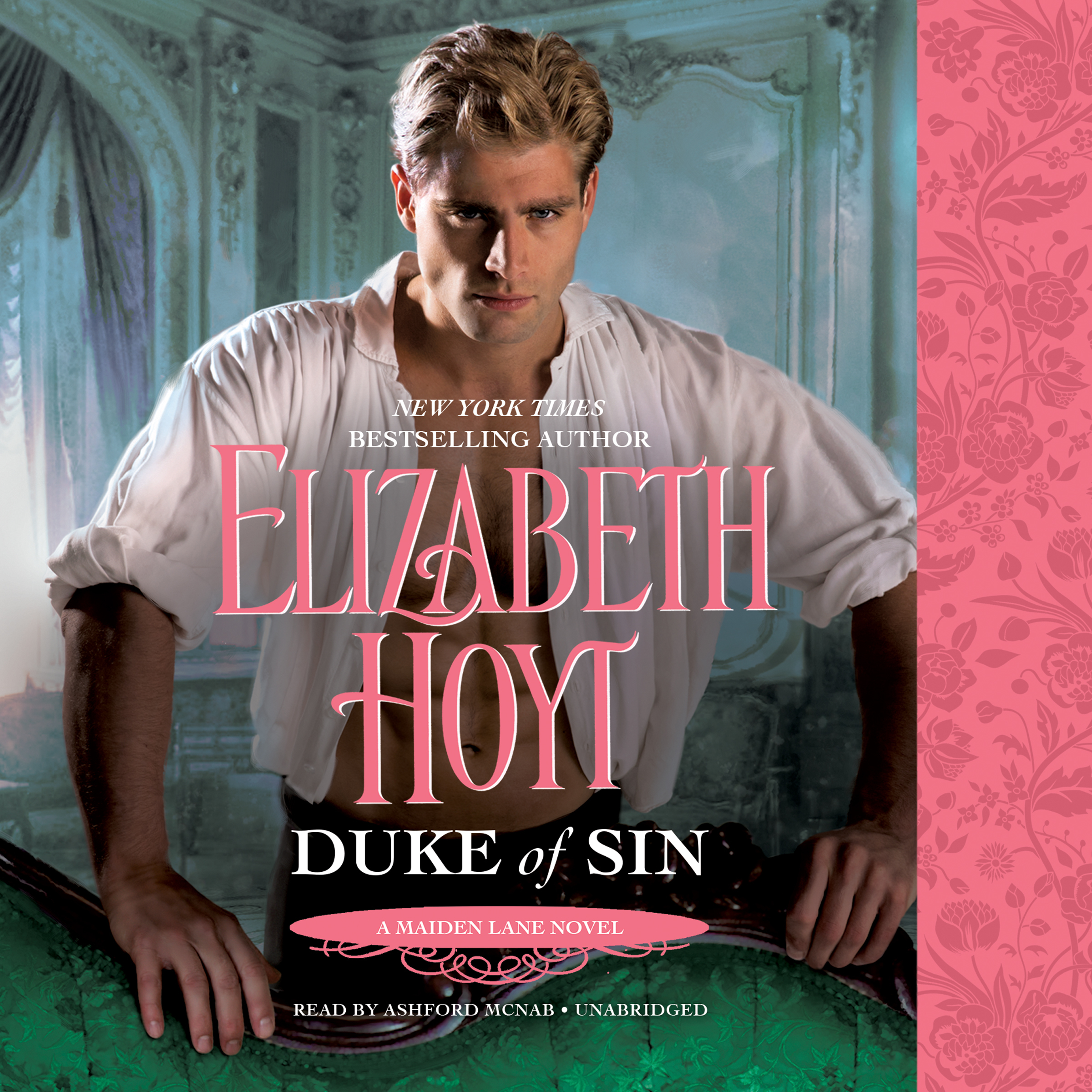 Printable Duke of Sin Audiobook Cover Art