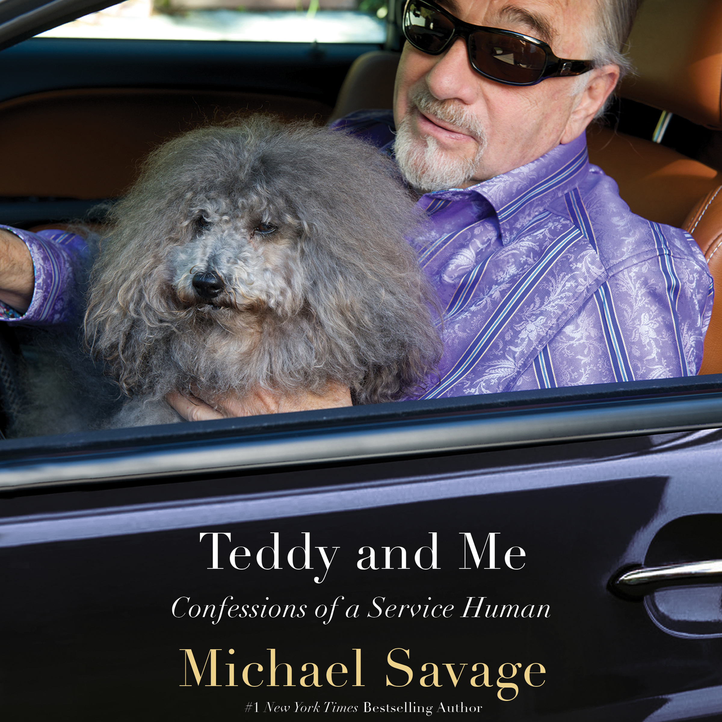 Printable Teddy and Me: Confessions of a Service Human Audiobook Cover Art