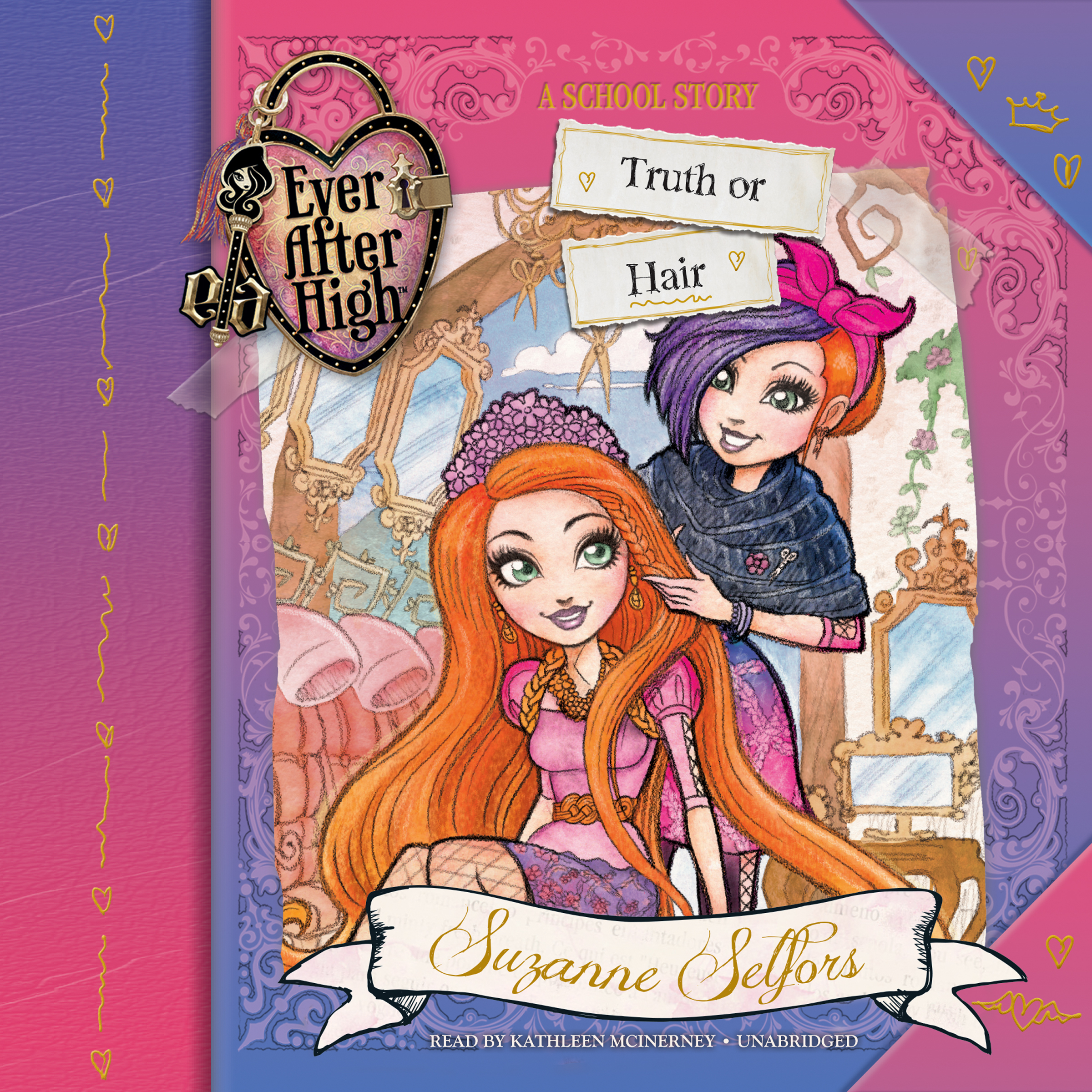 Printable Ever After High: Truth or Hair Audiobook Cover Art