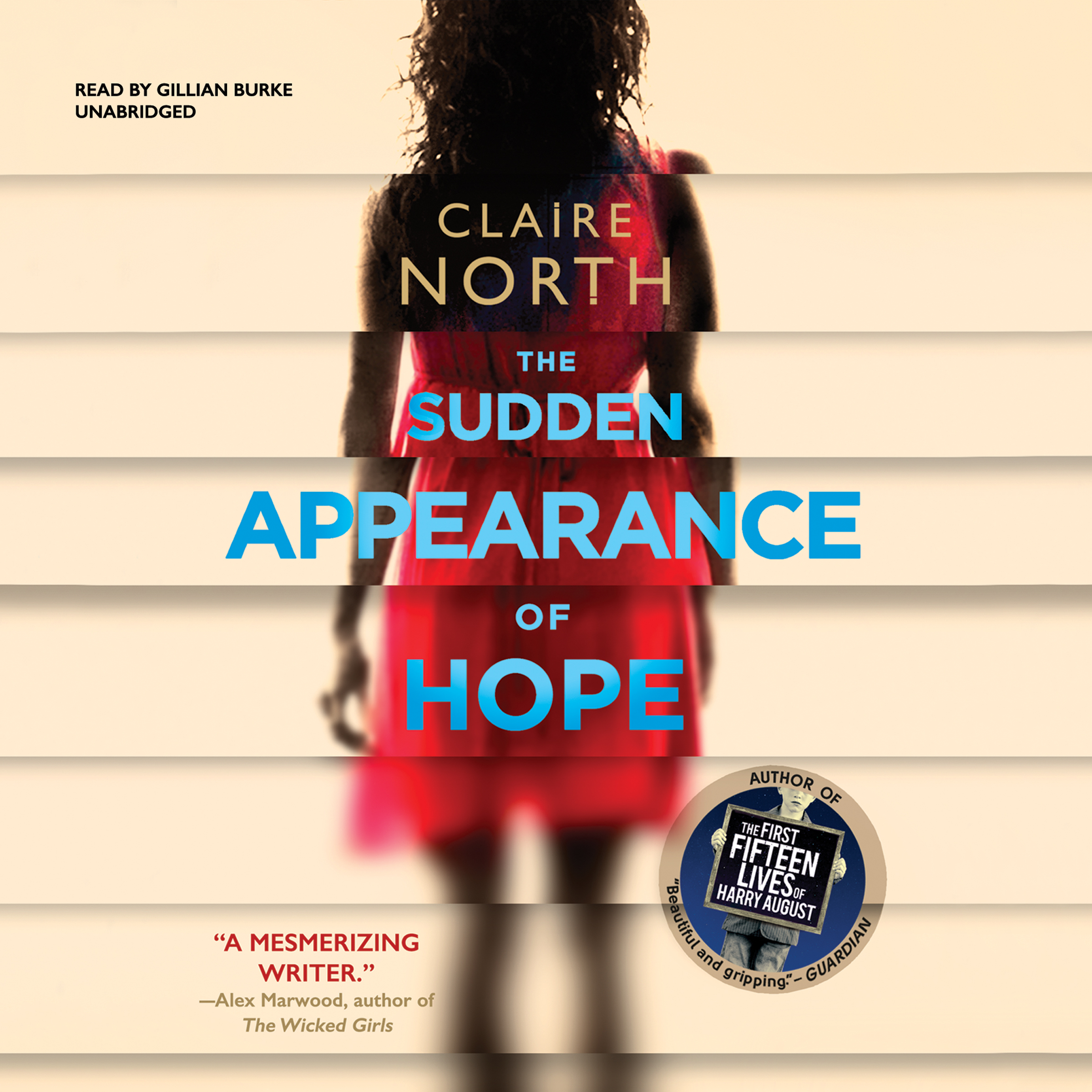 Printable The Sudden Appearance of Hope Audiobook Cover Art