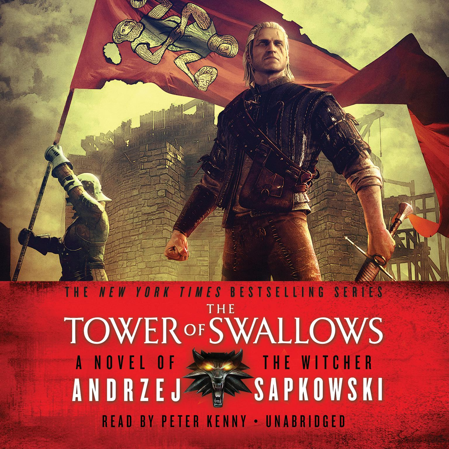 Printable The Tower of Swallows Audiobook Cover Art