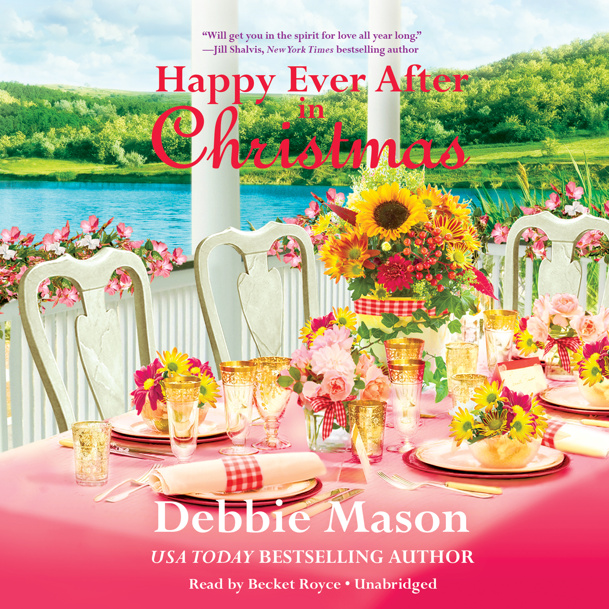 Printable Happy Ever After in Christmas Audiobook Cover Art
