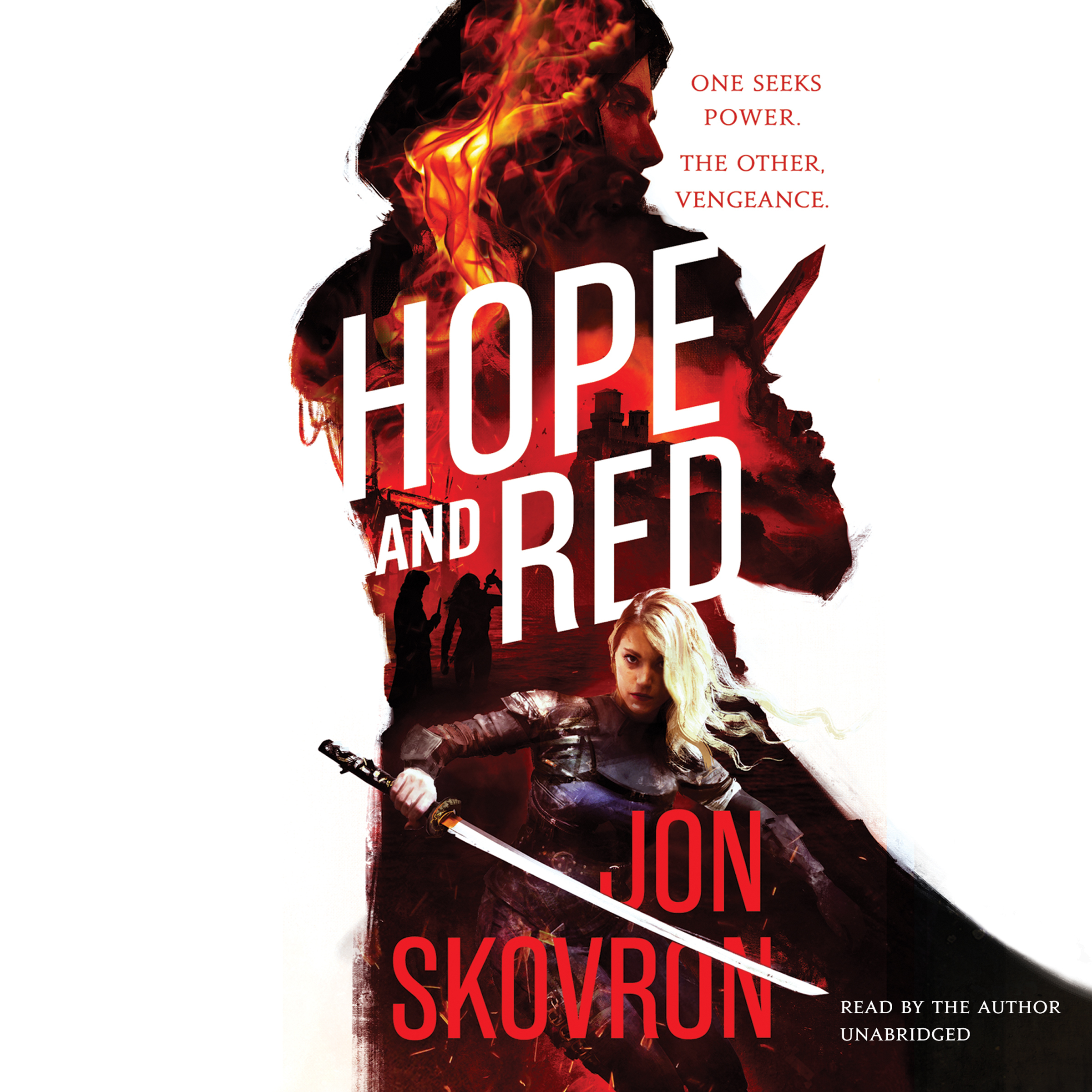 Printable Hope and Red Audiobook Cover Art
