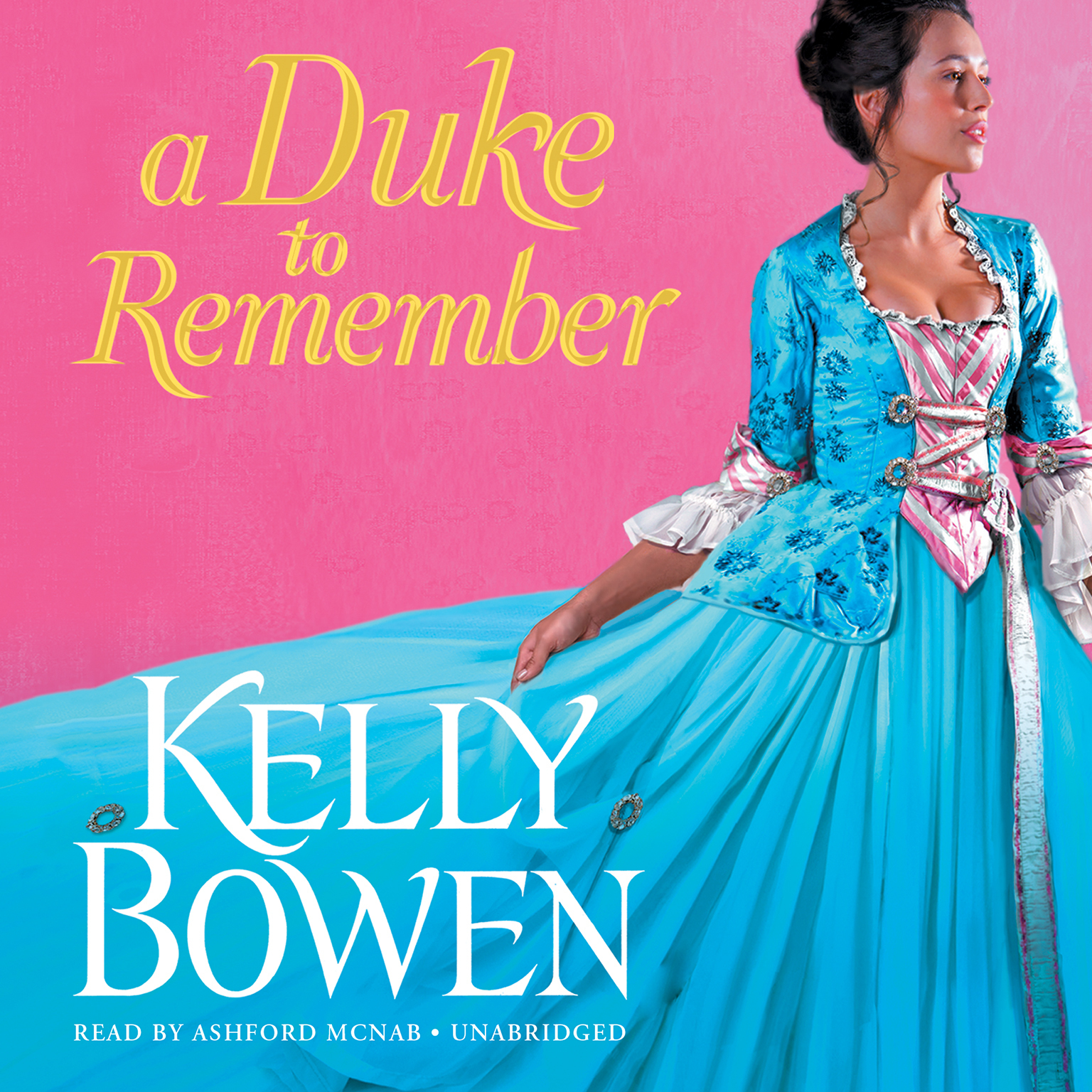 Printable A Duke to Remember Audiobook Cover Art