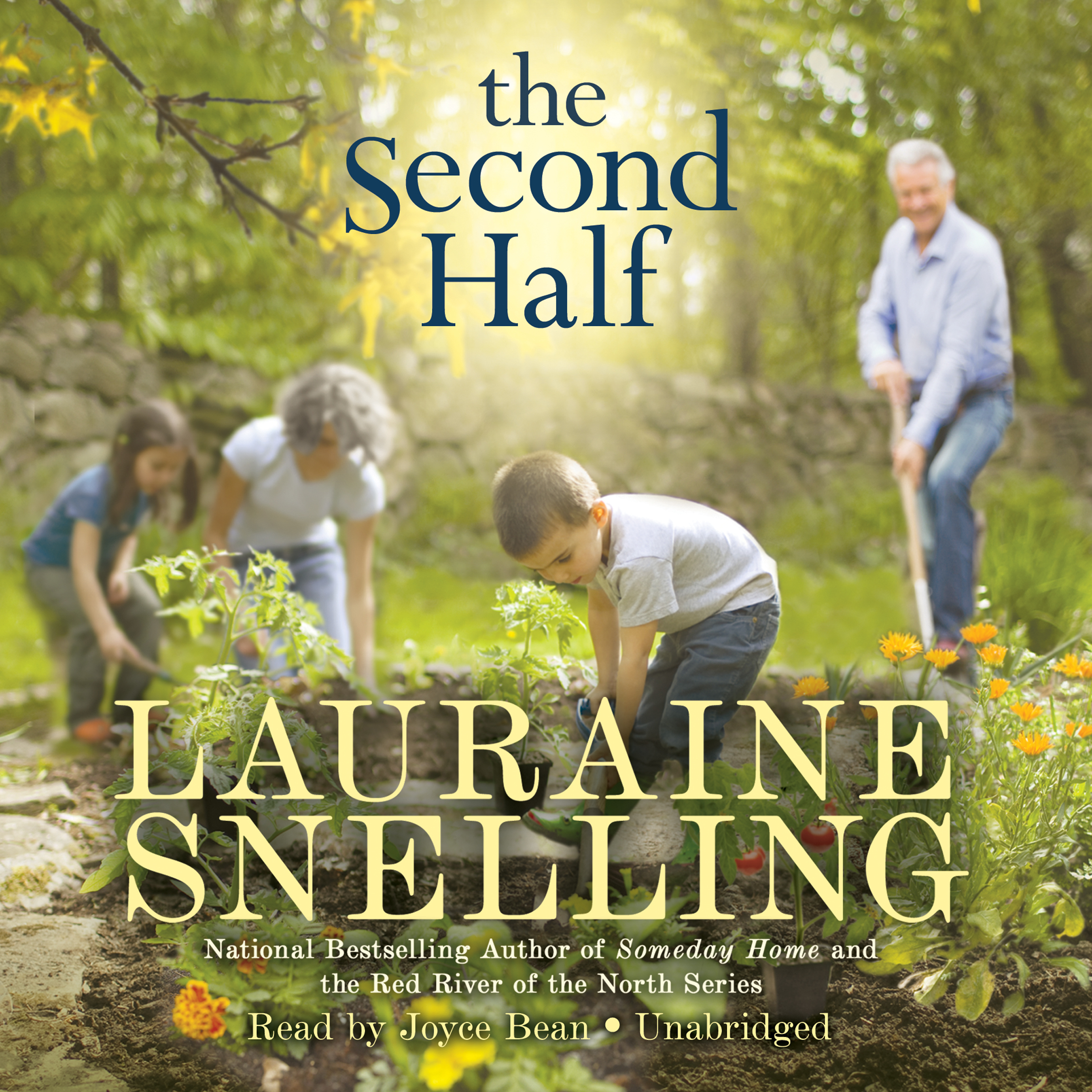 Printable The Second Half: A Novel Audiobook Cover Art