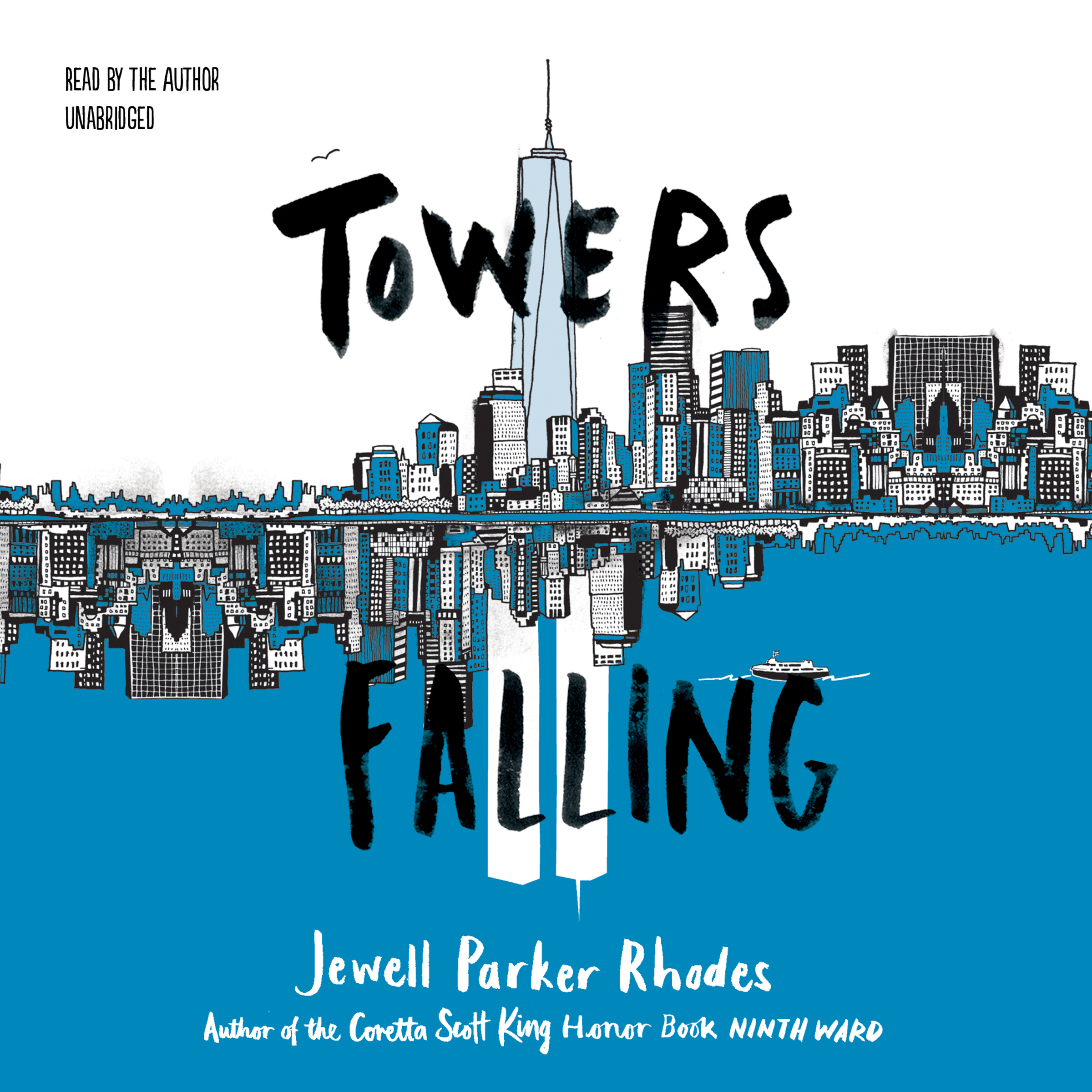 Printable Towers Falling Audiobook Cover Art