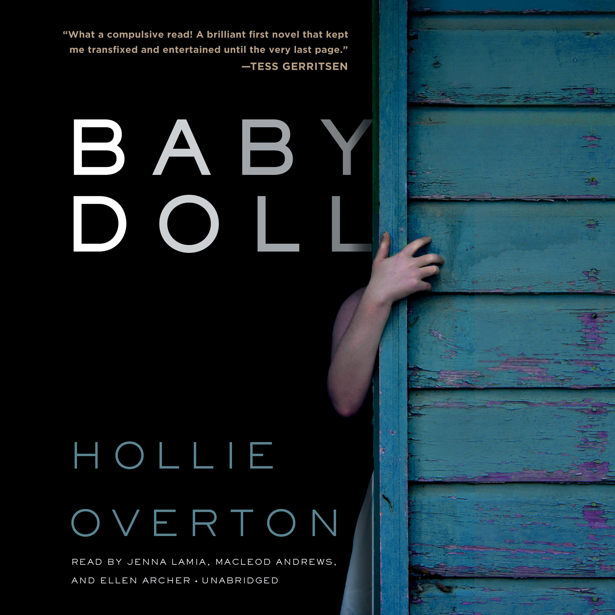 Printable Baby Doll Audiobook Cover Art