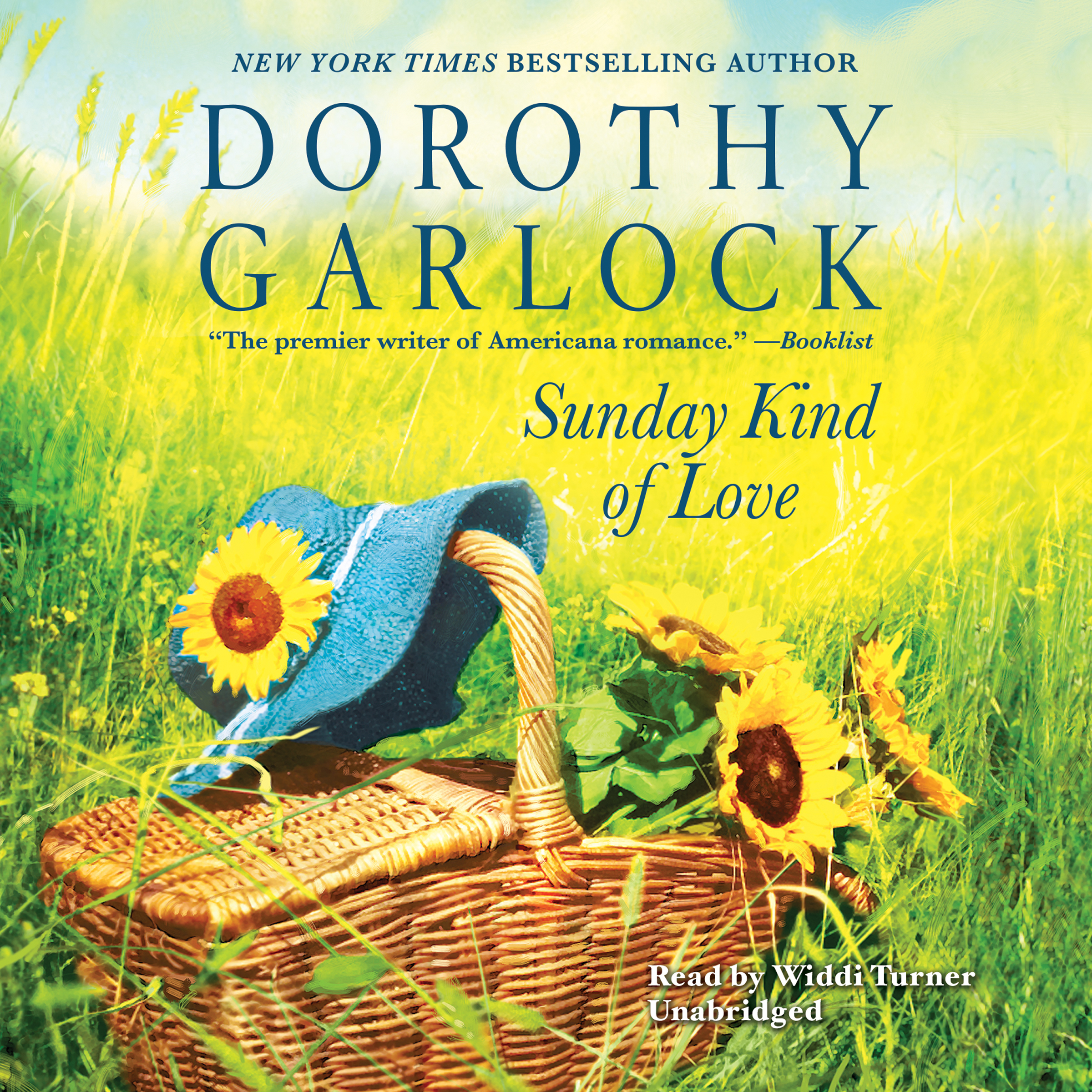 Printable Sunday Kind of Love Audiobook Cover Art