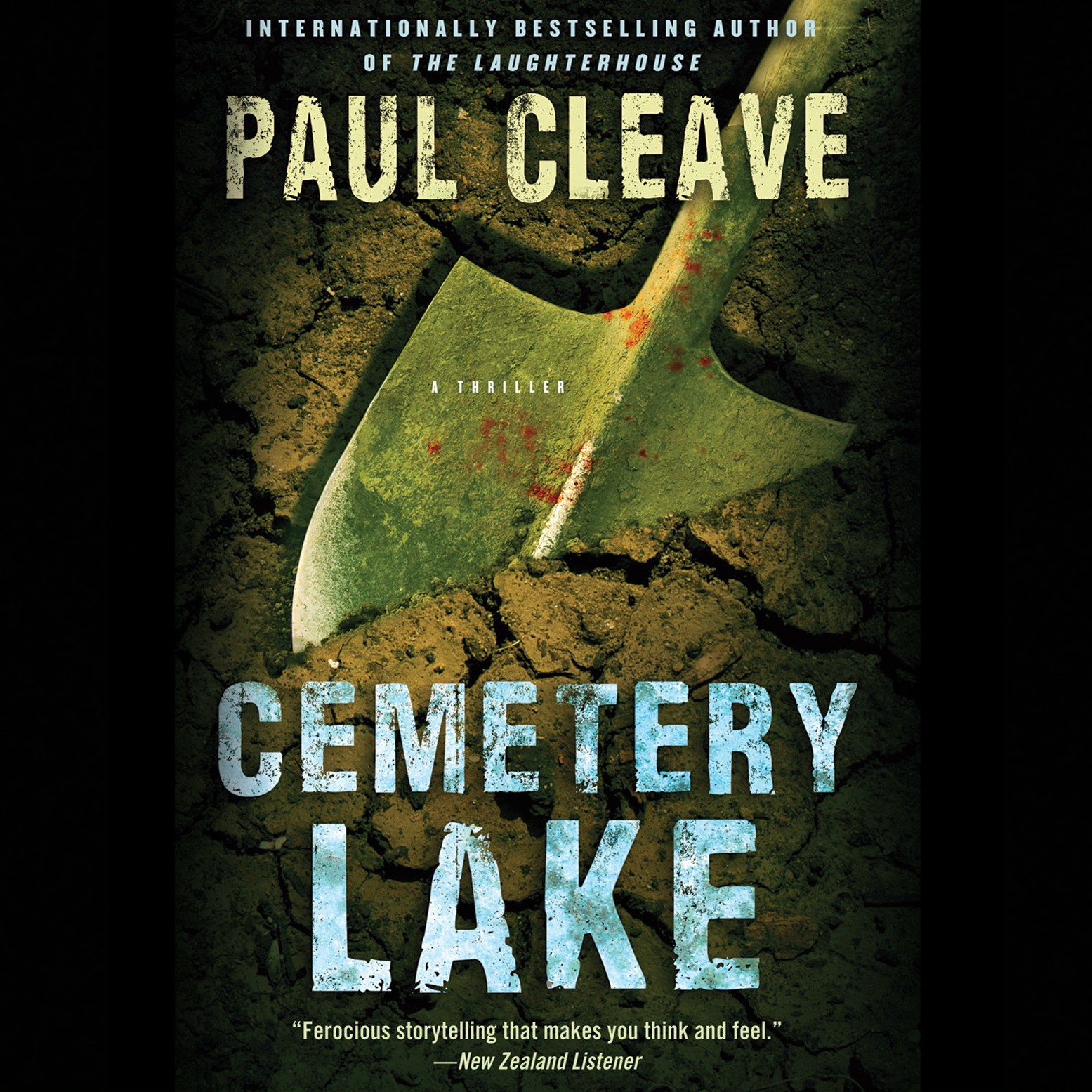 Printable Cemetery Lake: A Thriller Audiobook Cover Art
