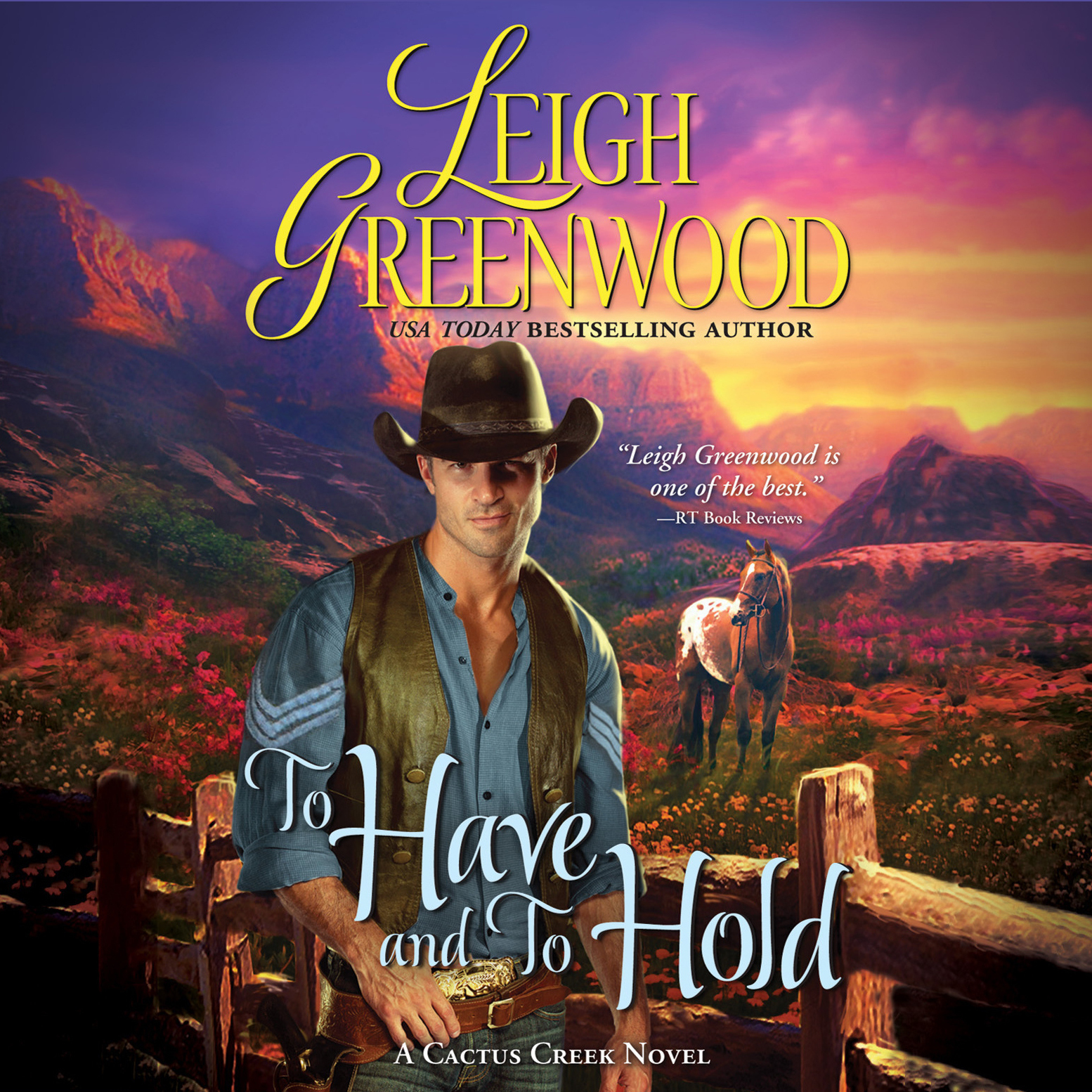 Printable To Have and to Hold: A Cactus Creek Novel Audiobook Cover Art