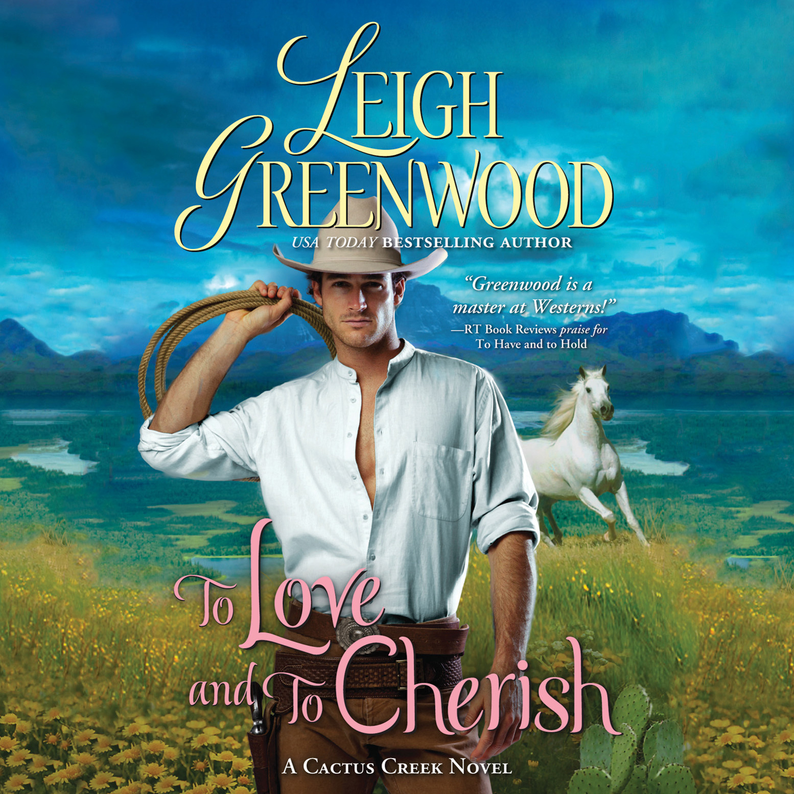 Printable To Love and to Cherish Audiobook Cover Art