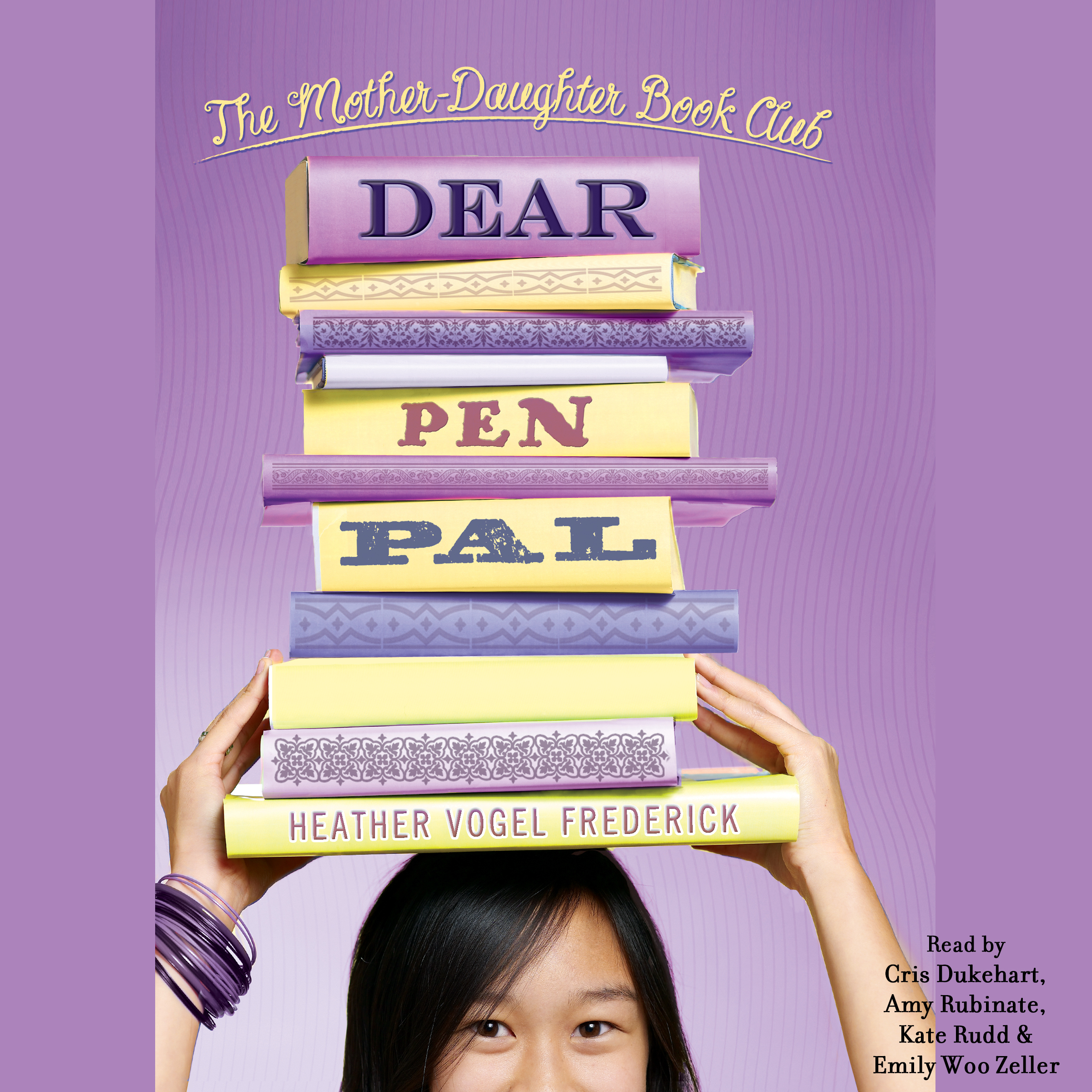 Printable Dear Pen Pal: Mother-Daughter Book Club Audiobook Cover Art