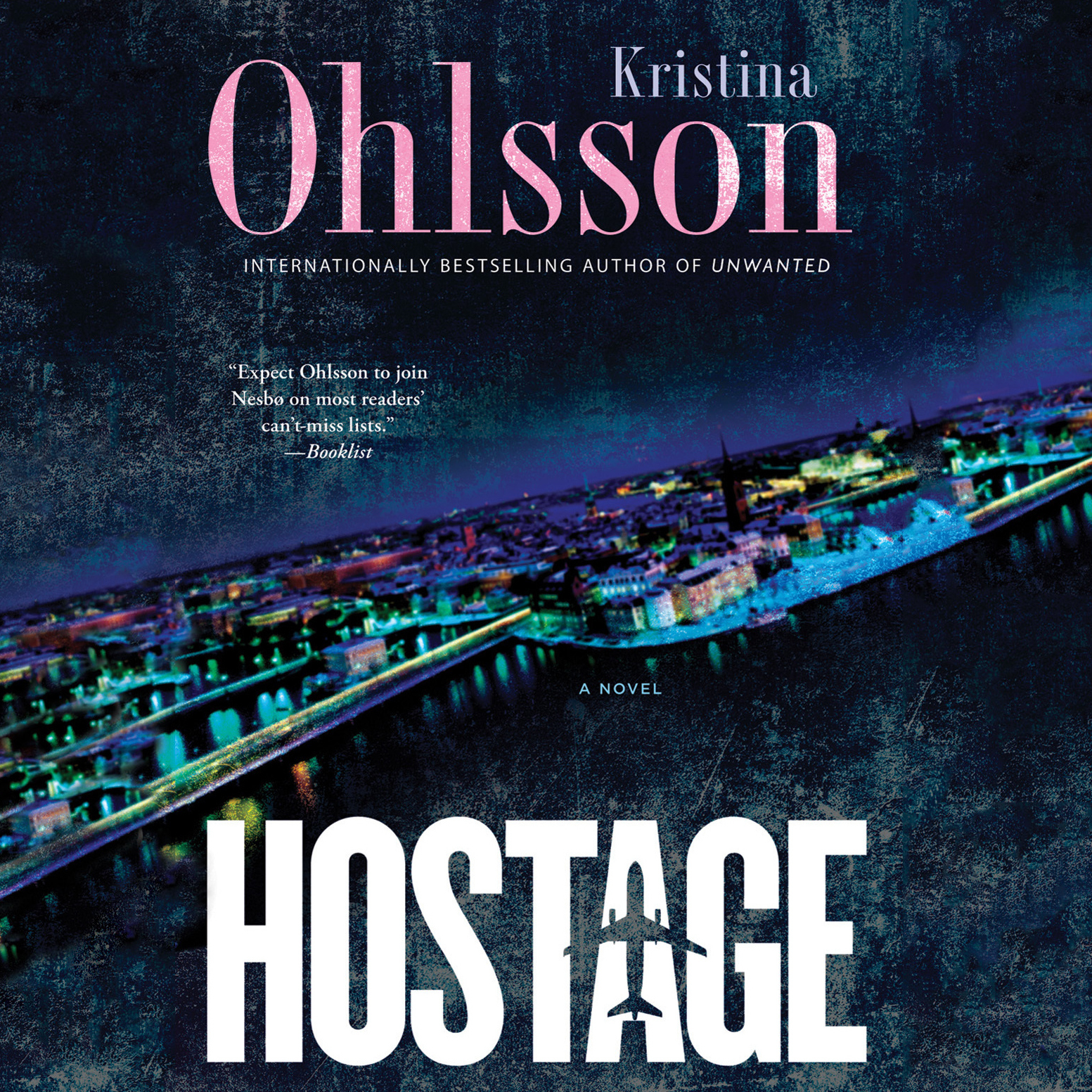 Printable Hostage Audiobook Cover Art