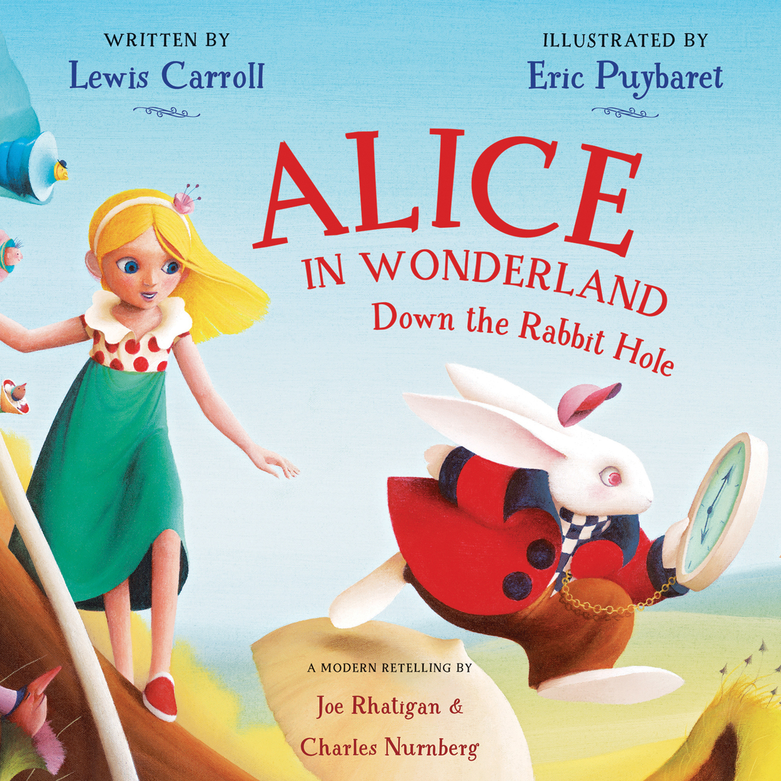 Printable Alice in Wonderland: Down the Rabbit Hole Audiobook Cover Art
