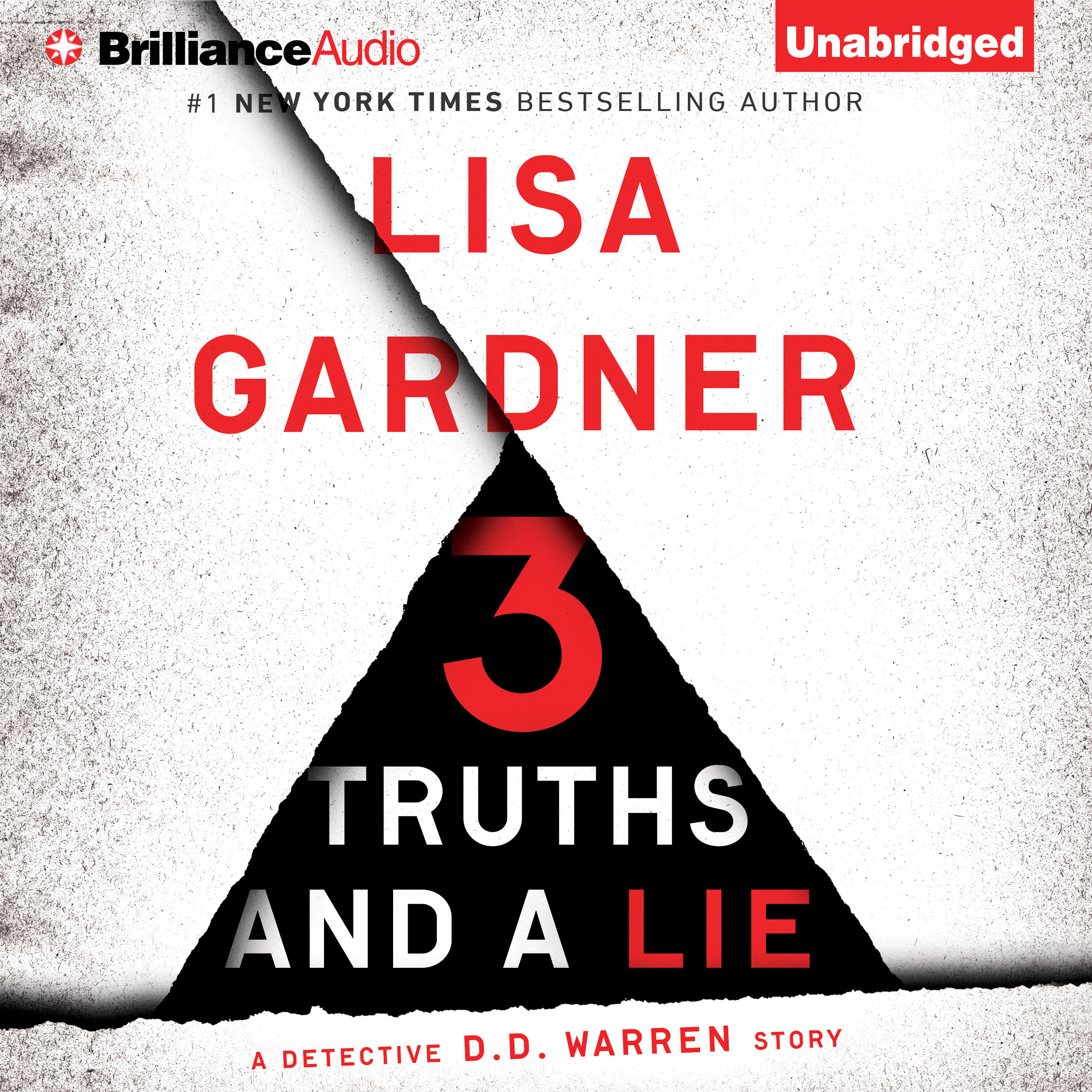 Printable 3 Truths and a Lie: A Detective D. D. Warren Story Audiobook Cover Art
