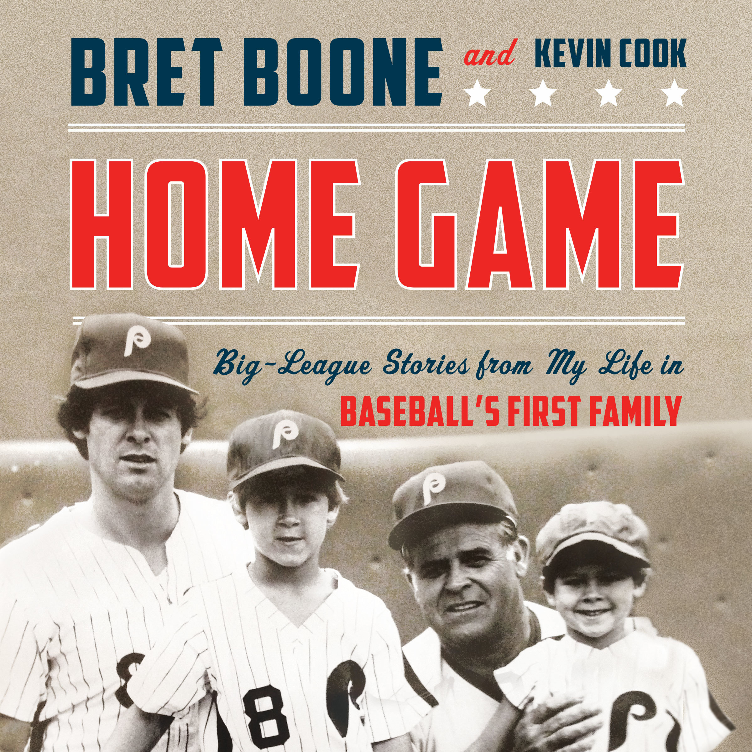 Printable Home Game: Big-League Stories from My Life in Baseball's First Family Audiobook Cover Art