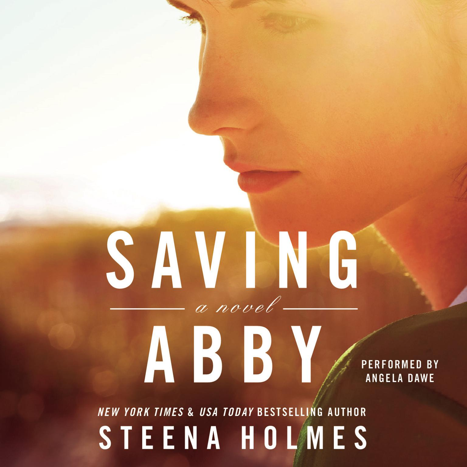 Printable Saving Abby Audiobook Cover Art
