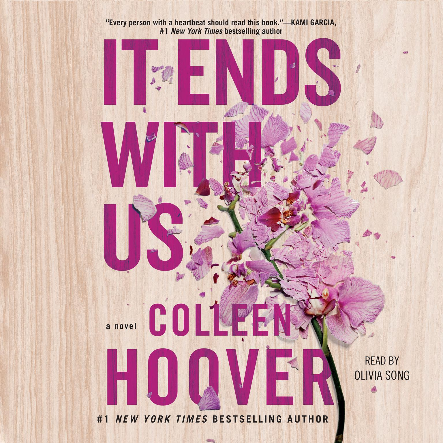 Printable It Ends with Us Audiobook Cover Art